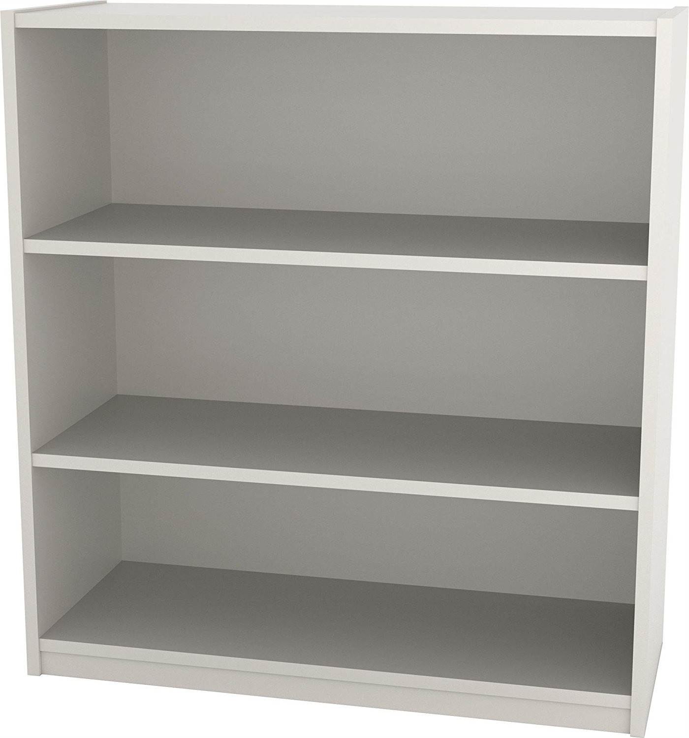 Ameriwood 3 Shelf Bookcases With 2018 Amazon: Ameriwood 5 Shelf Bookcase, White Stipple: Kitchen (View 6 of 15)