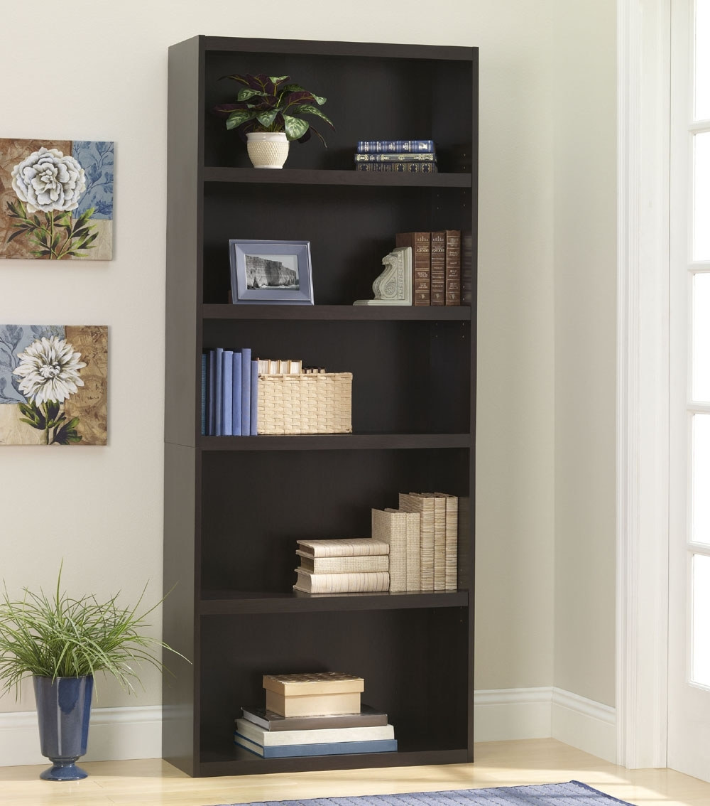 Ameriwood 5 Shelf Bookcases In Most Recent Ameriwood 5 Shelf Bookcase 9602207p (View 2 of 15)