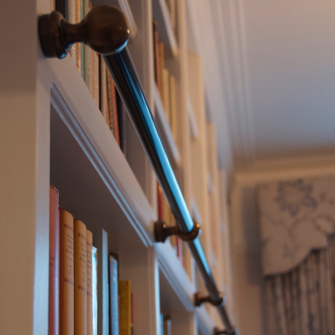 Andrew Nebbett Designs Throughout Well Liked Wooden Library Ladders (View 12 of 15)