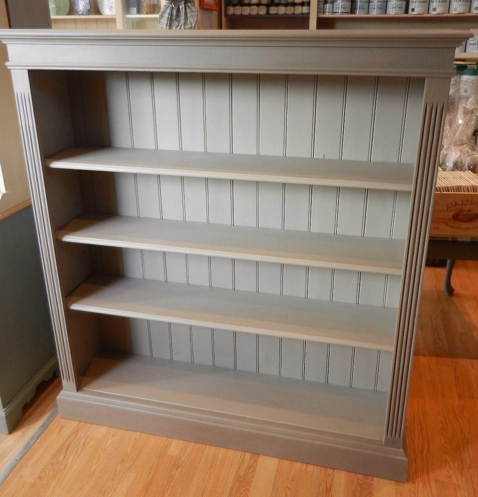 Annie Sloan In Painted Wood Bookcases (View 14 of 15)