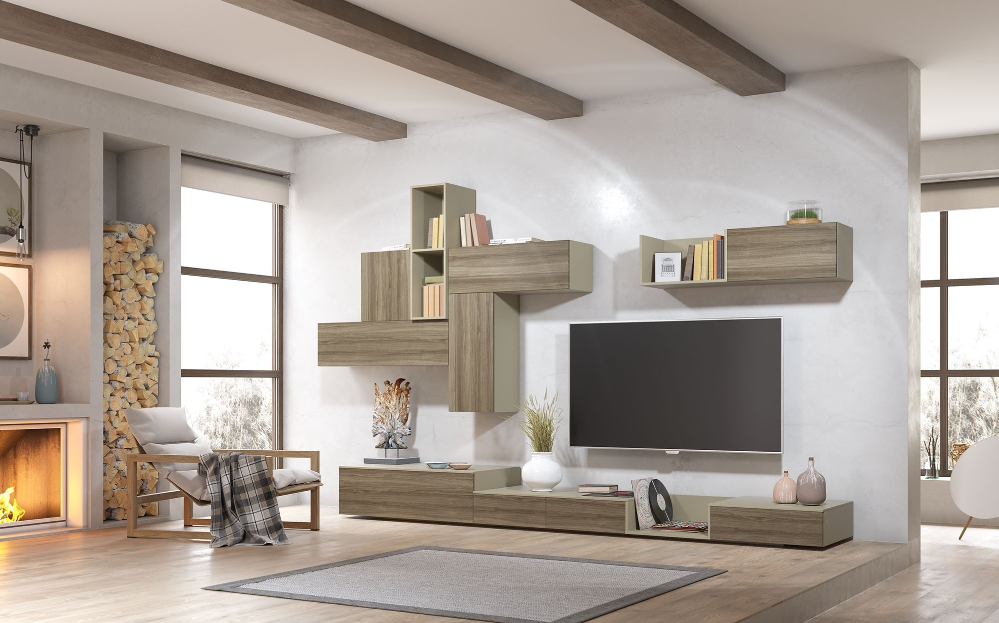 Baby Nursery: Lovable Fitted Cabinets Living Room Highest Quality Regarding Best And Newest Fitted Wall Units Living Room (View 2 of 15)
