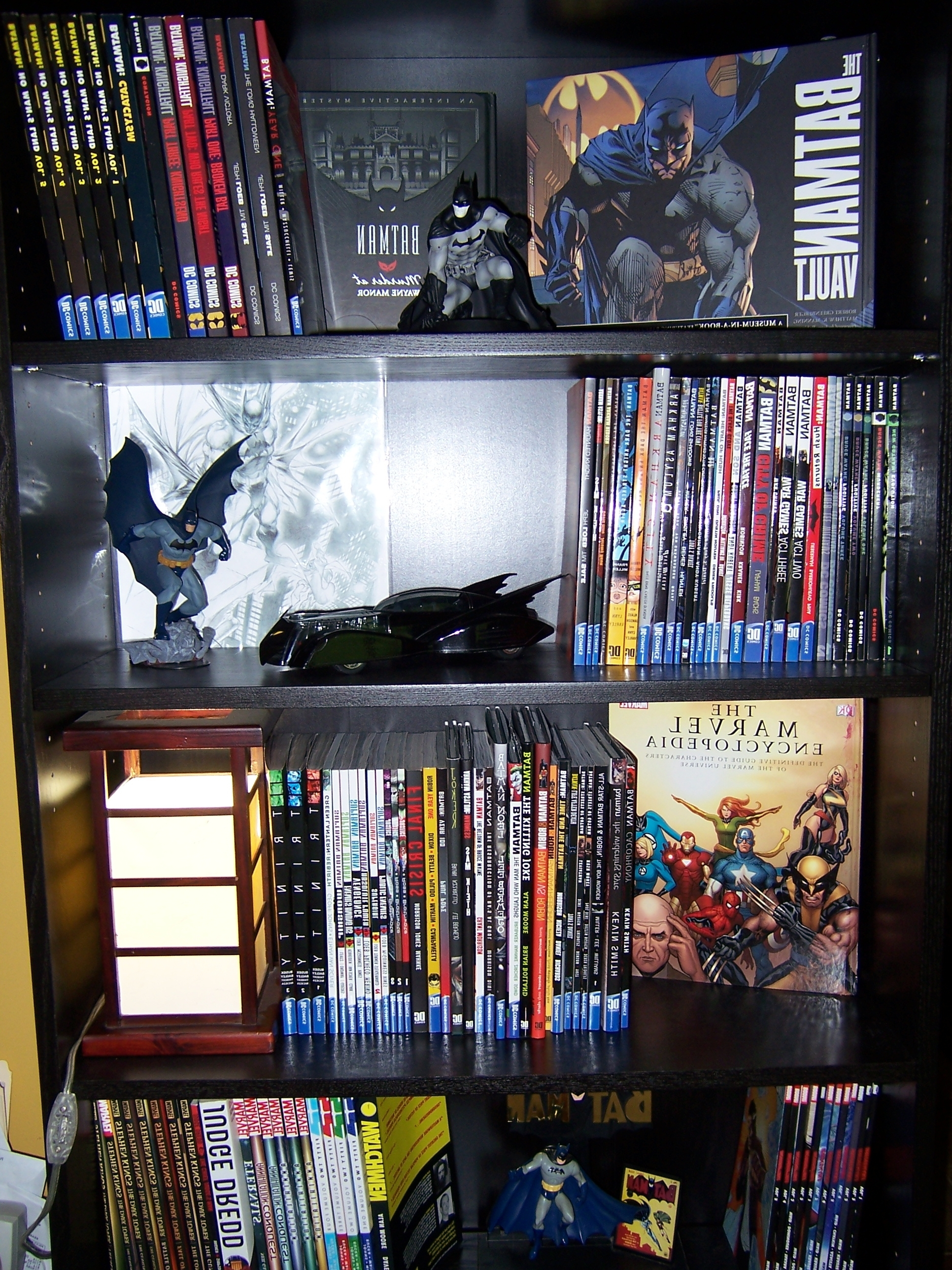 Batman Bookcases Inside Trendy This Is My Batman Bookcasewhere I Keep All Of My Graphic Novels (View 5 of 15)