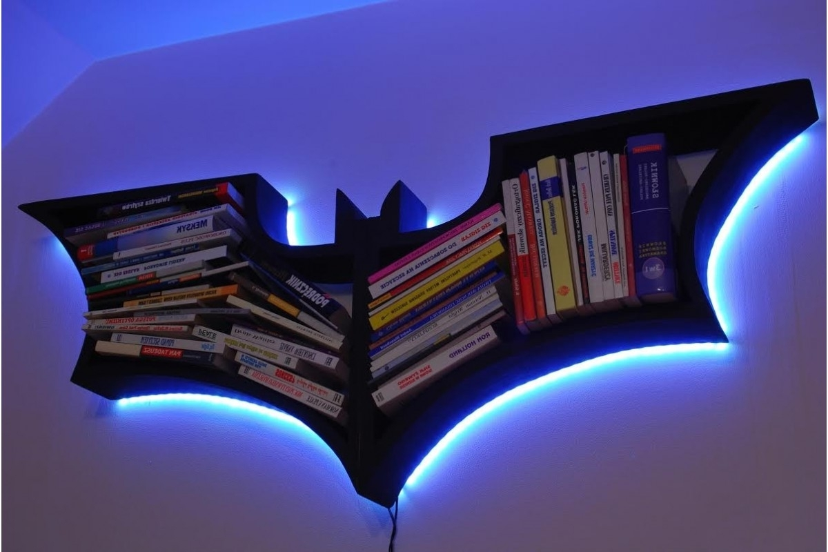 Batman Bookcases With 2017 Bookshelf (View 8 of 15)