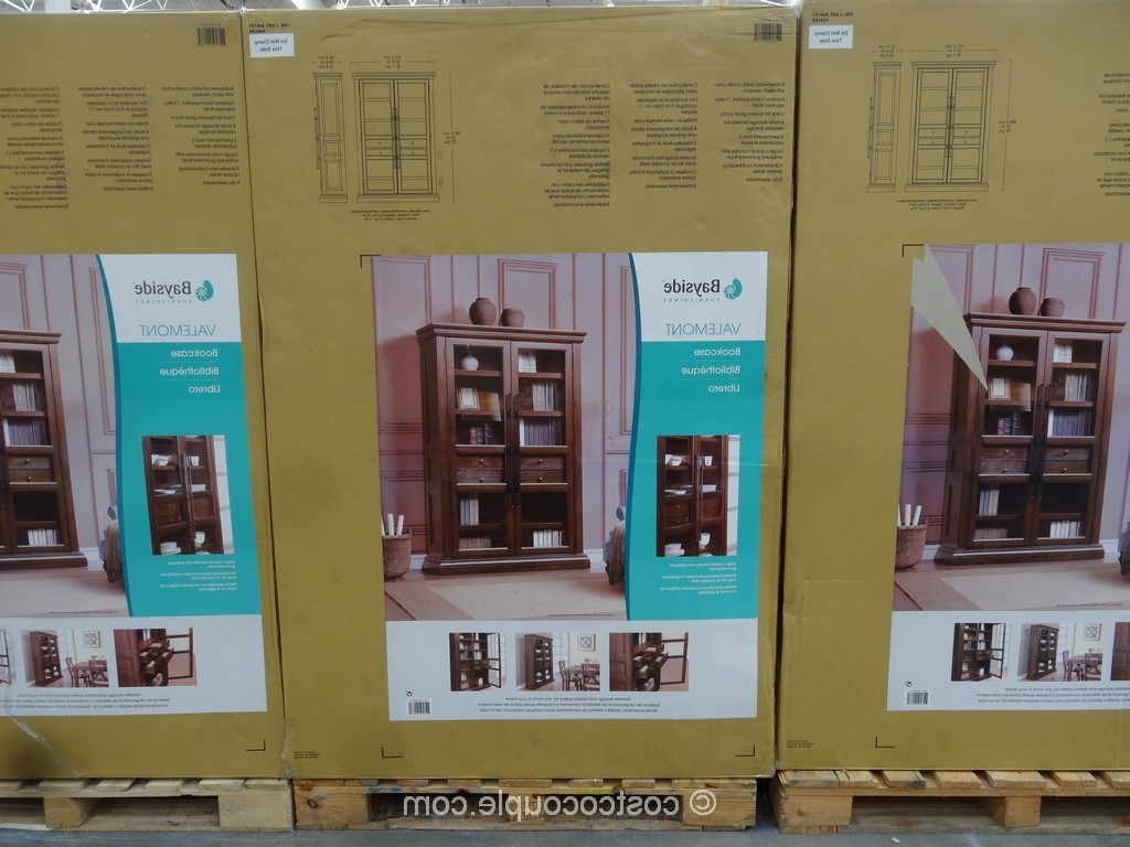 Bayside Furnishings Ladder Bookcase Throughout Most Popular Costco Bookcases (View 1 of 15)