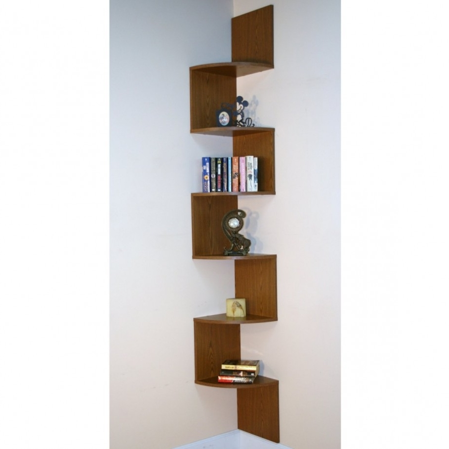 Beautiful Corner Bookcase Ideas Corner Bookshelves Bookshelf Pertaining To Best And Newest Bookshelves Designs For Home (View 7 of 15)