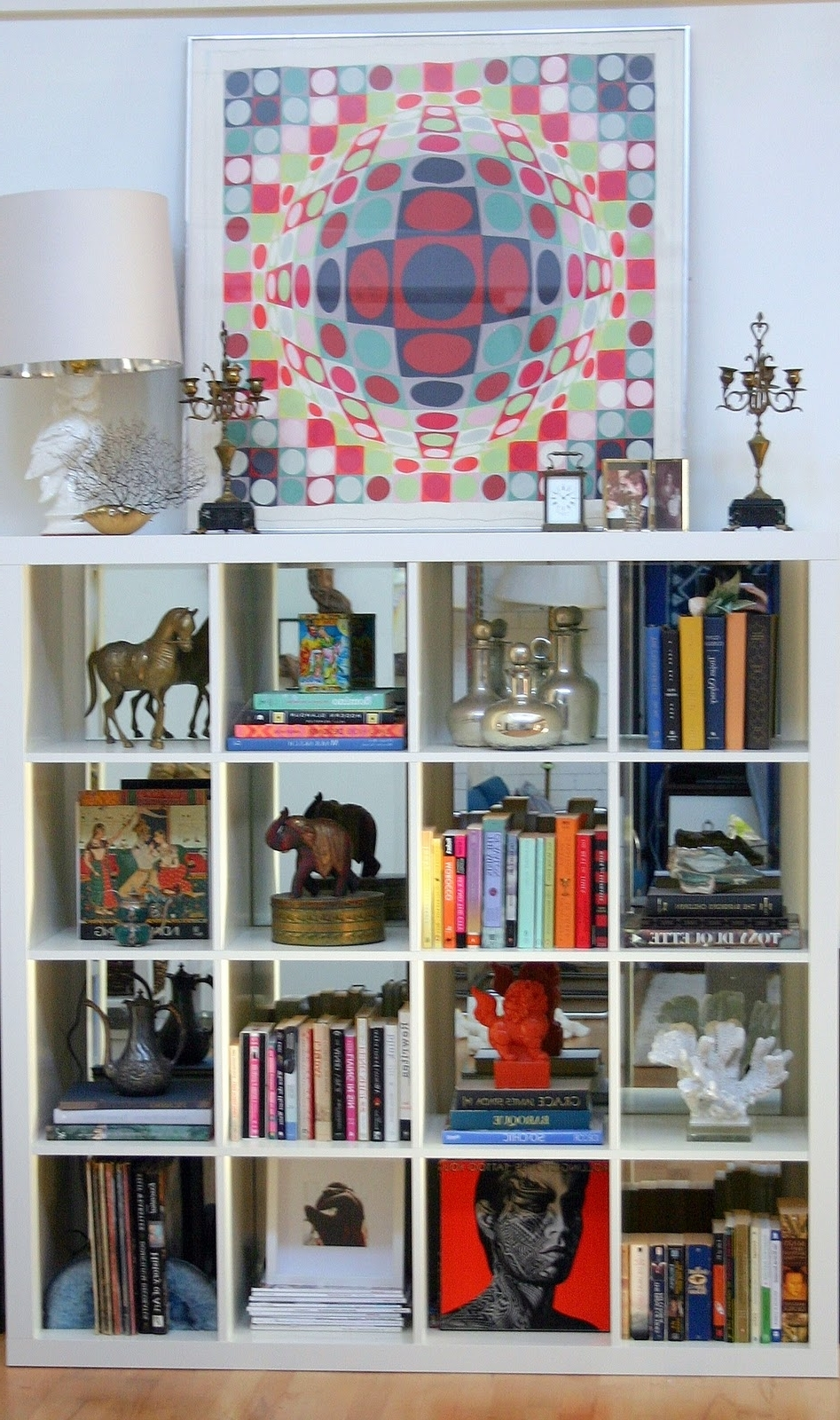 Bed Bath And Beyond Bookcases Pertaining To Most Current New Apartment Reveal: The Bookcase – Design Manifestdesign Manifest (View 6 of 15)