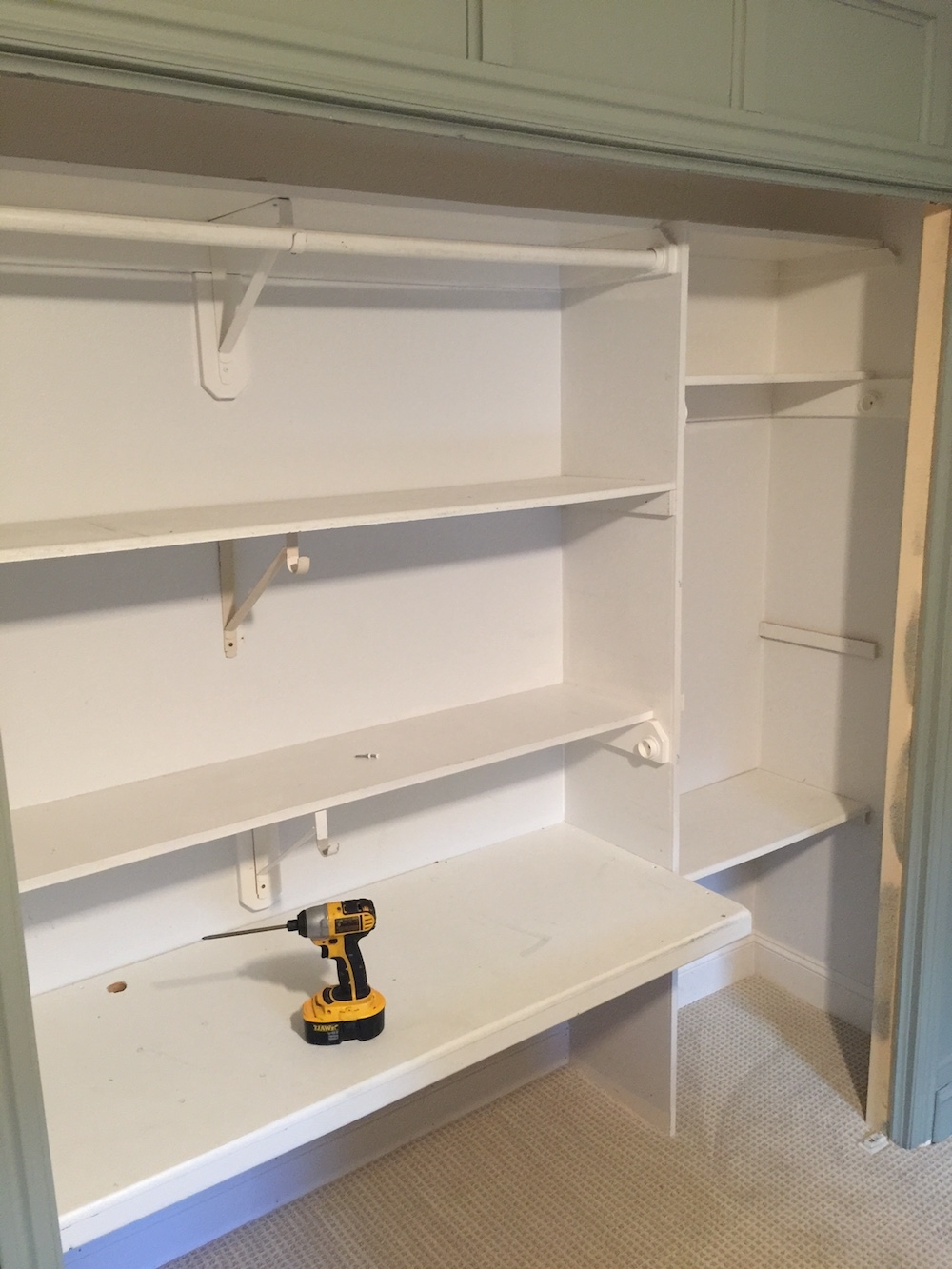 Bedroom Bookcases Pertaining To Latest Using Bookcases In A Bedroom Closet – Chris Loves Julia (View 3 of 15)