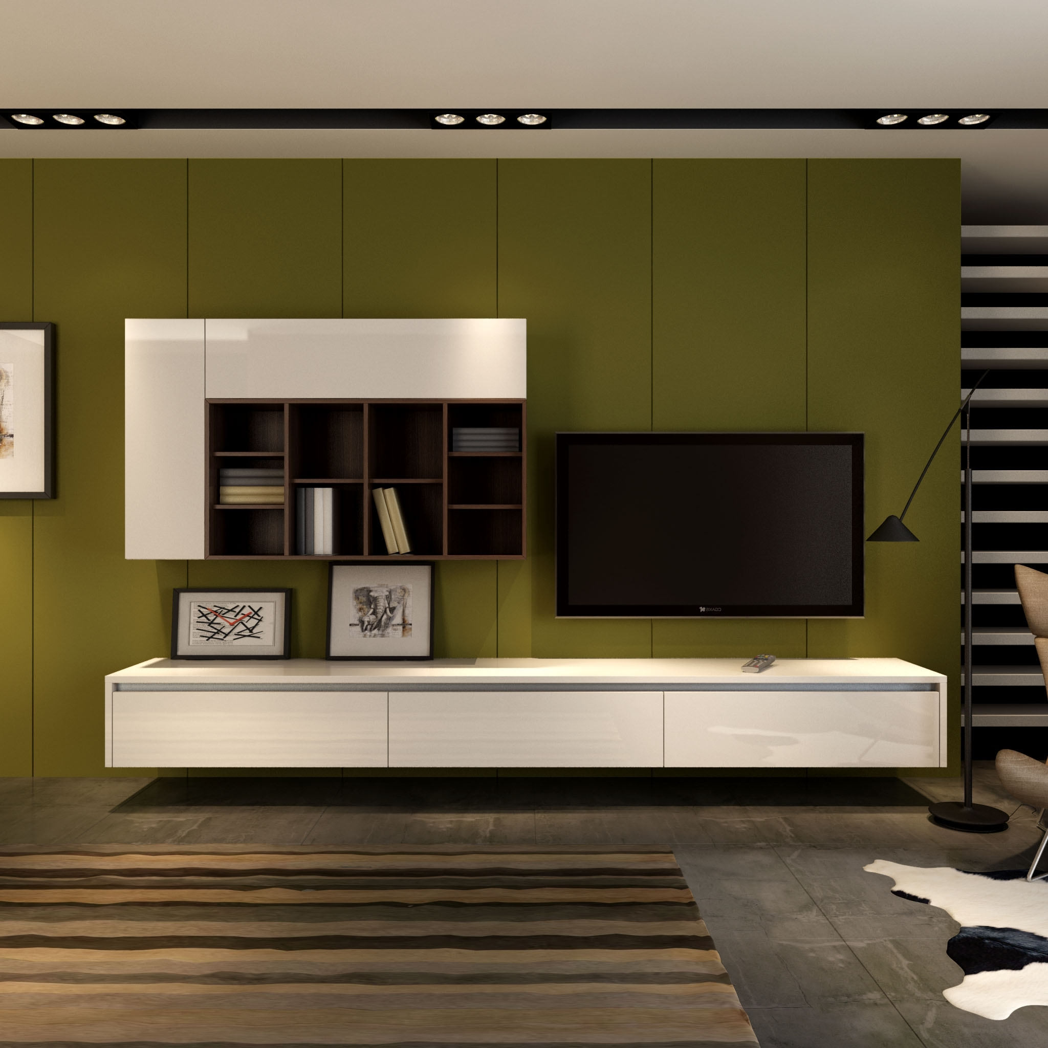 Bedroom : Tv Wall Unit Designs Tv Stand Designs Latest Modern Tv Inside  Fashionable Modern Tv