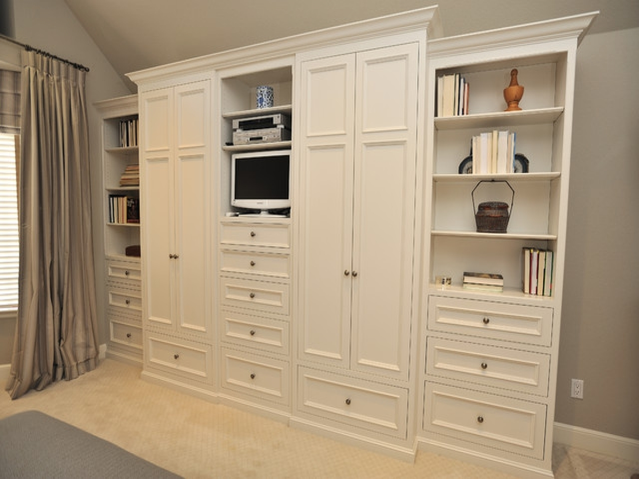 Featured Photo of Bedroom Wardrobes Storages