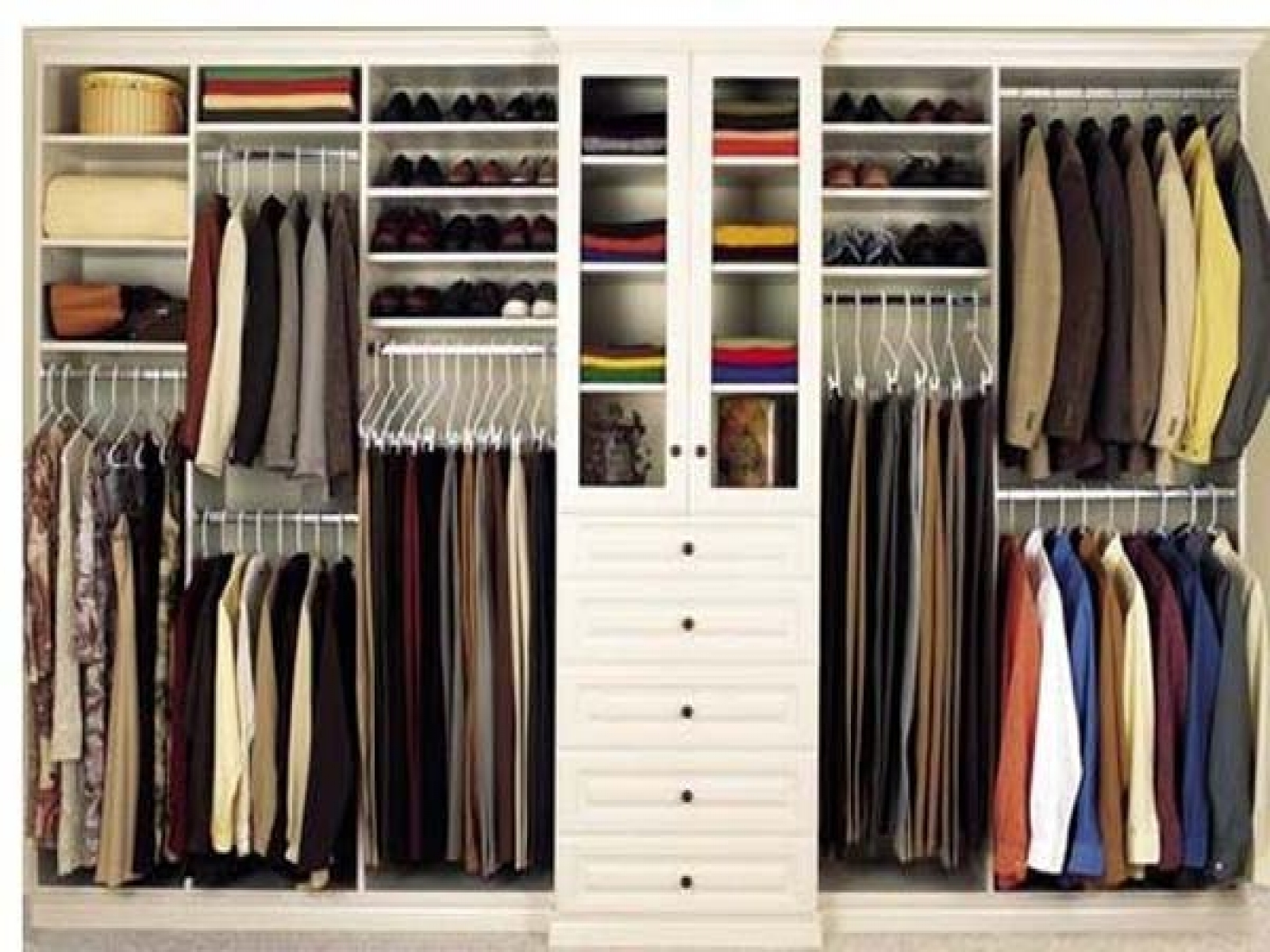 Bedroom Wardrobes Storages Throughout Most Recently Released Closet Storage : Cheap Bedroom Storage Ideas Clothing Storage (View 5 of 15)