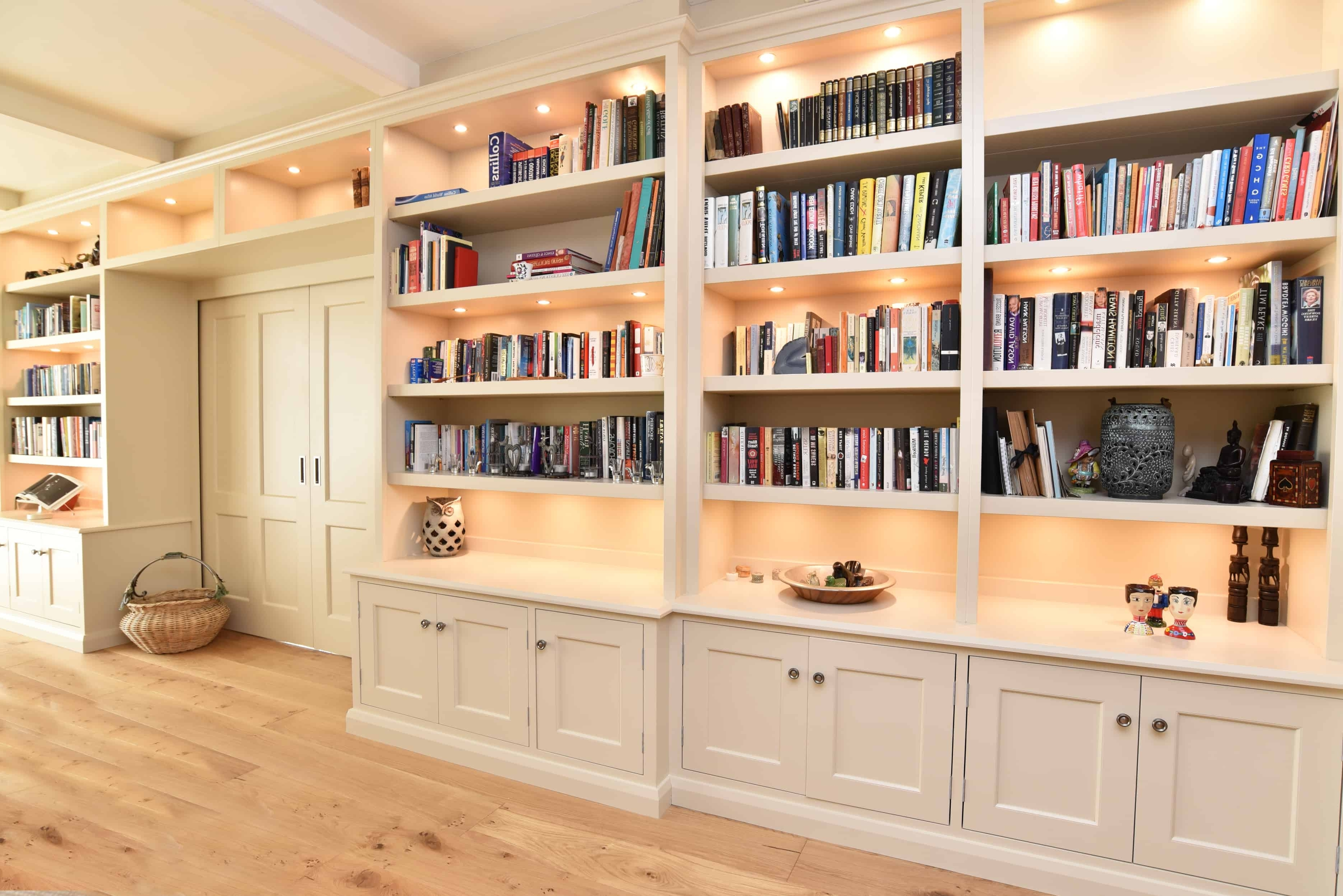 Bespoke Bookcases Intended For 2018 Bespoke Bookcases Harrogate (View 14 of 15)