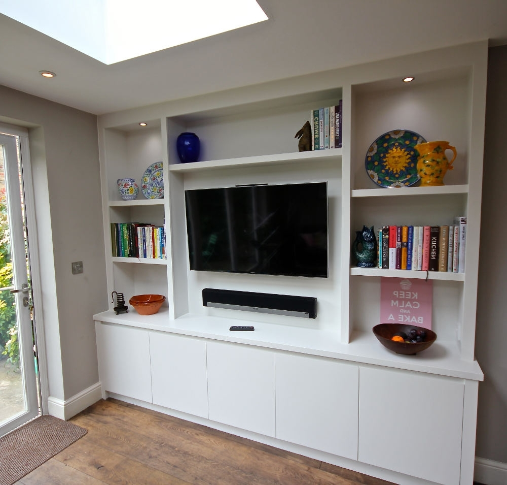 Bespoke Bookcases With Most Current The Bookcase Co Specialises In Bespoke Bookcases, Alcove Units And (View 5 of 15)