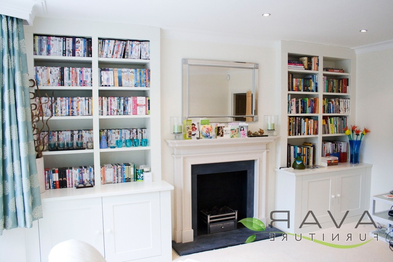 Bespoke Bookshelves Intended For Widely Used Ƹӝʒ Alcove Units Ideas / Gallery  (View 3 of 15)