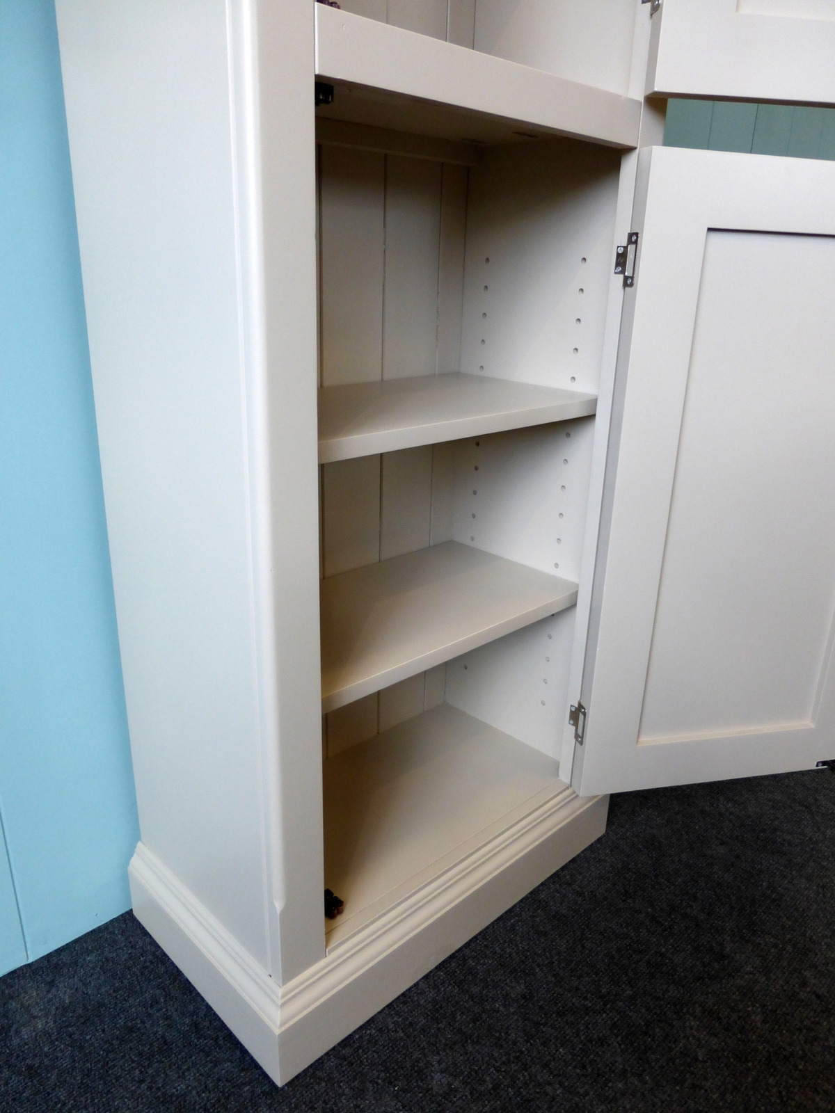 Bespoke Cupboard In Most Recent Tall Narrow Cupboard – Bespoke Porch Hallway And Bathroom (View 1 of 15)