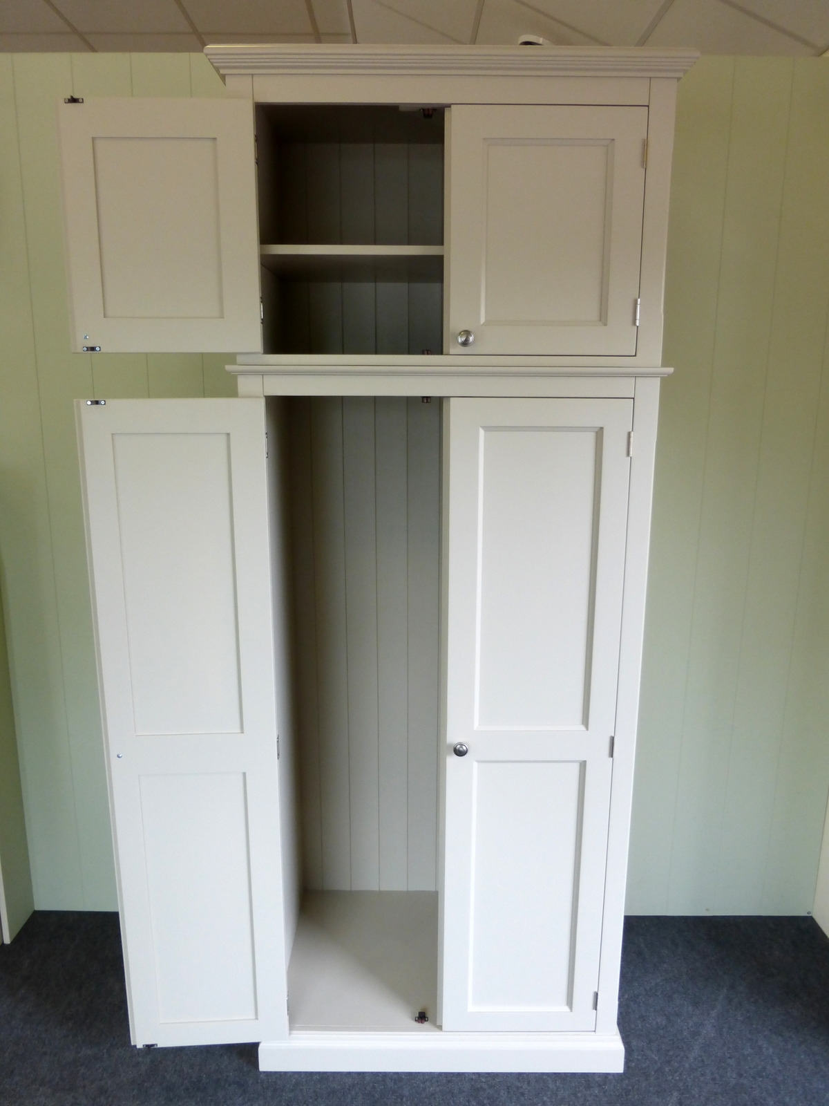Bespoke Cupboard Intended For Fashionable Tall Storage Cupboard – Cupboards – Buy Pine, Oak, Painted And (View 2 of 15)