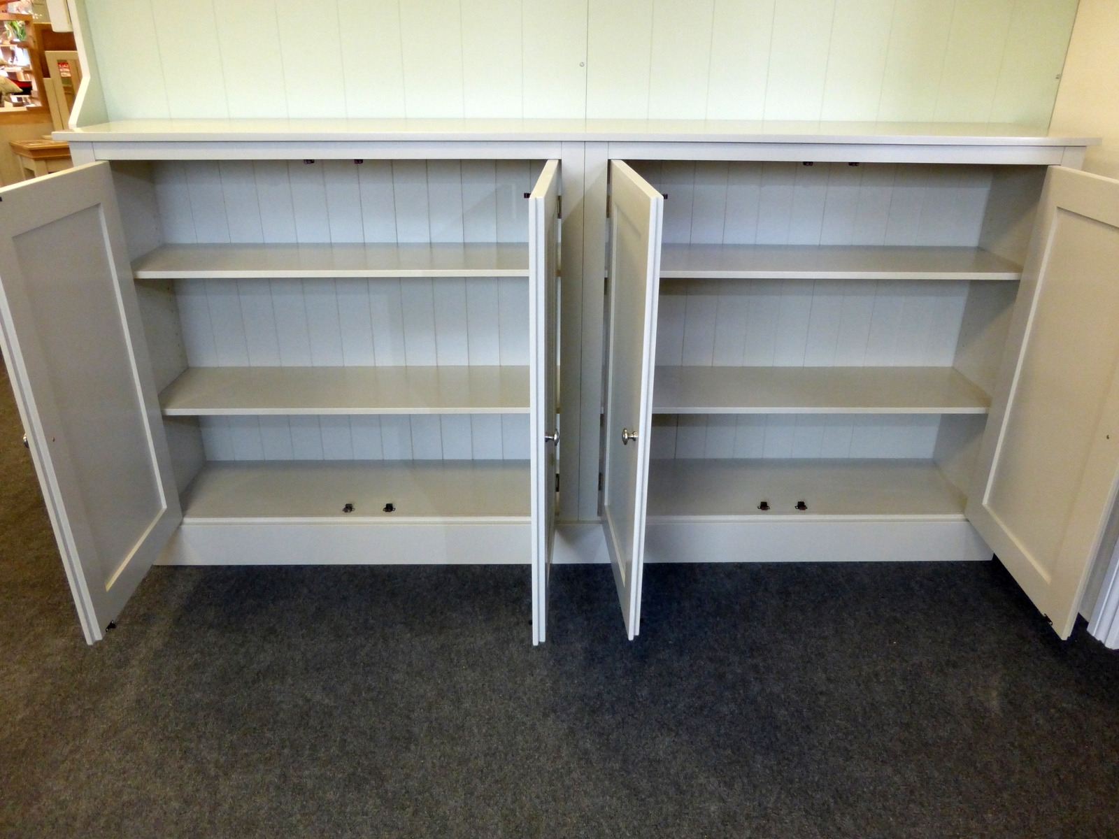Bespoke Cupboard With Regard To Favorite Wide Four Door Storage Cupboard – Cupboards – Buy Pine, Oak (View 3 of 15)