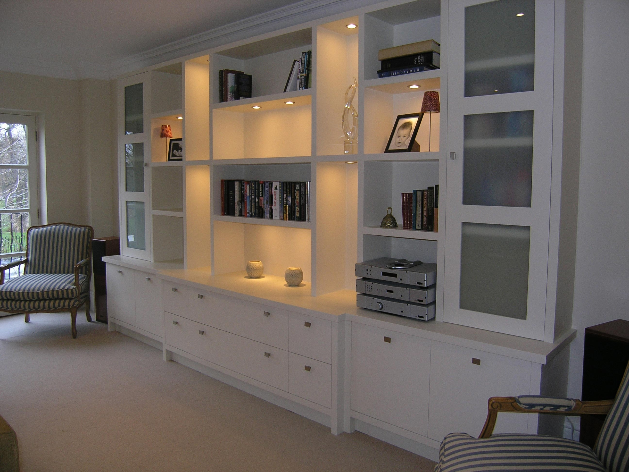 Bespoke Fitted Tv Units Living Room Furniture, Berkshire Living Pertaining To 2018 Fitted Cabinets Living Room (View 1 of 15)