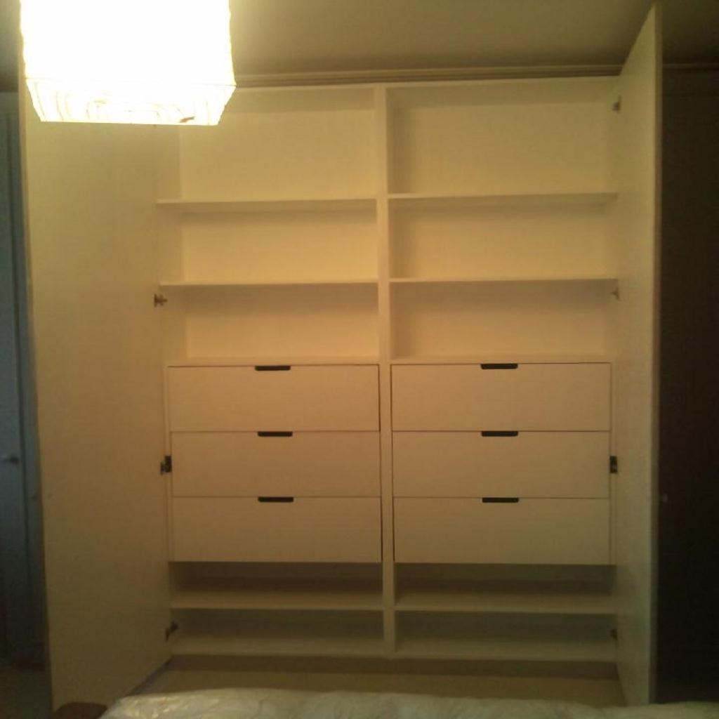 Bespoke Furniture, Bookcases & Alcove Units – Wood Fairy Restorations Regarding Most Popular Drawers For Fitted Wardrobes (View 3 of 15)