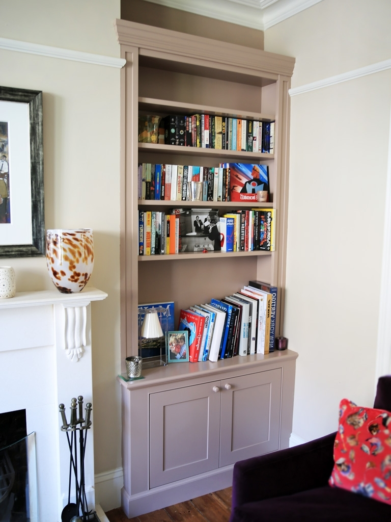 Bespoke Furniture Regarding Fitted Book Shelves (View 2 of 15)
