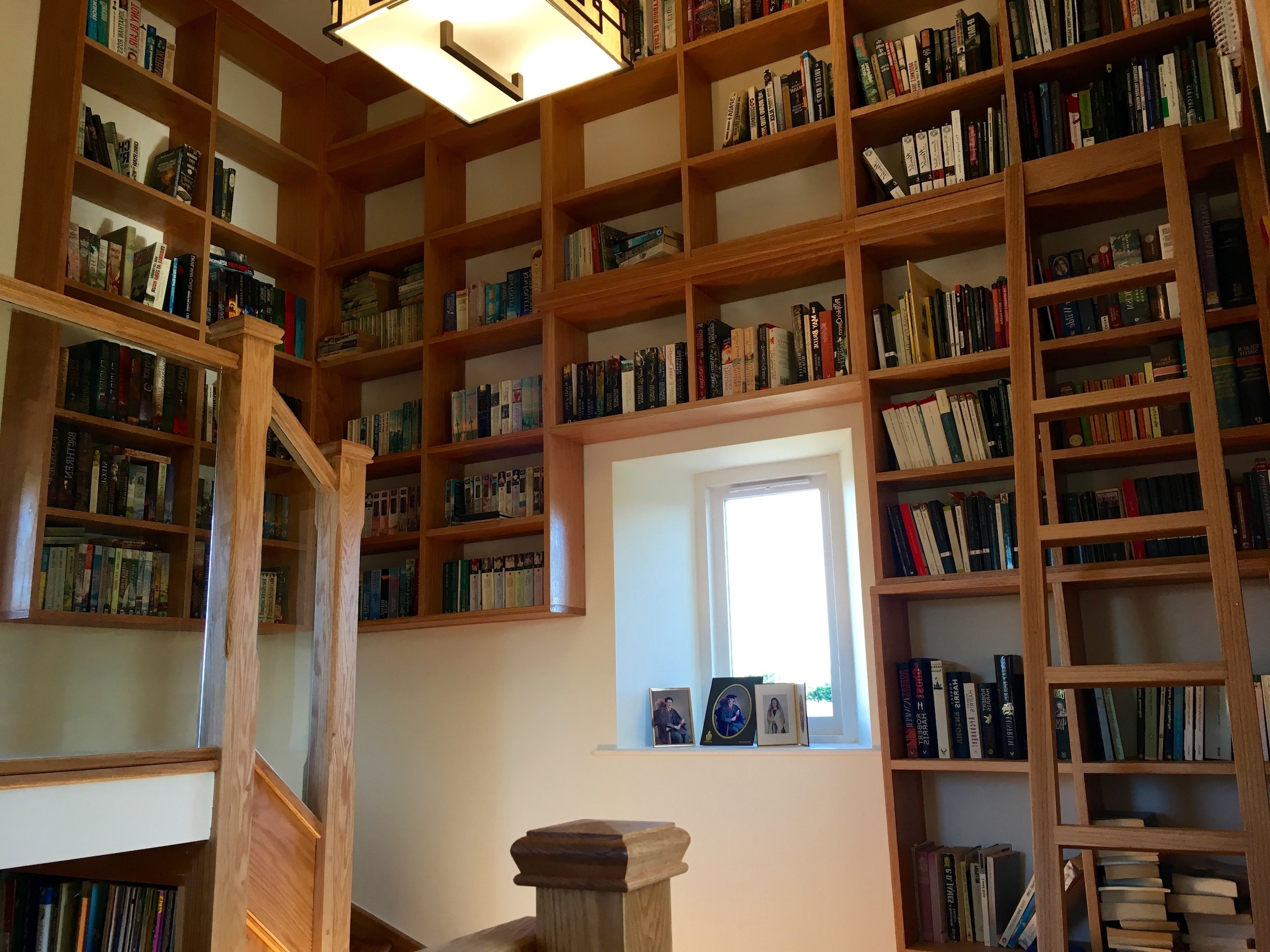 Bespoke Library Intended For Most Recently Released Staley Stonework > Past Projects – The Tower House: Part  (View 4 of 15)