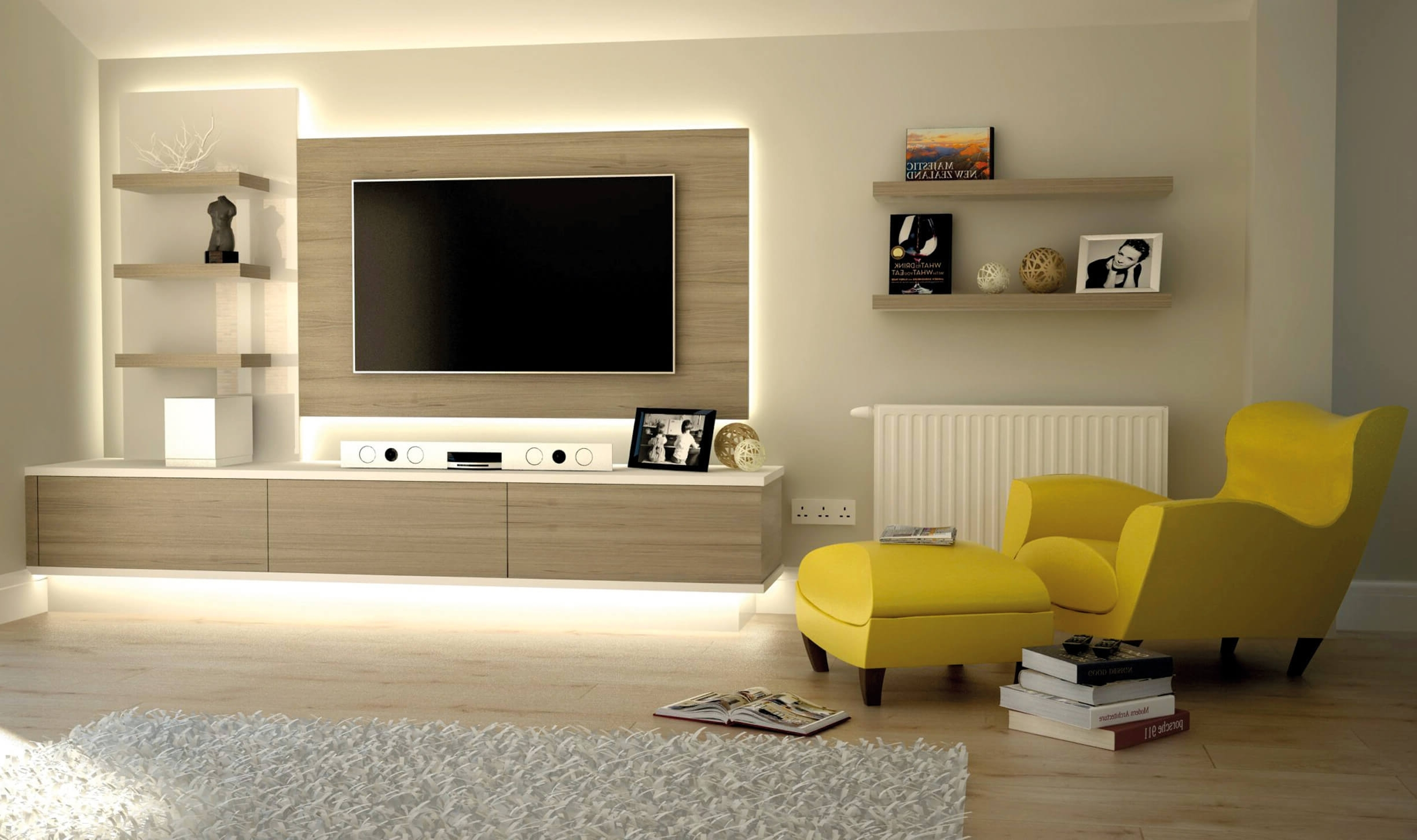 Bespoke Tv Cabinets Bookcases And Storage Units For Over Living In Well Known Bespoke Tv Stand (View 2 of 15)