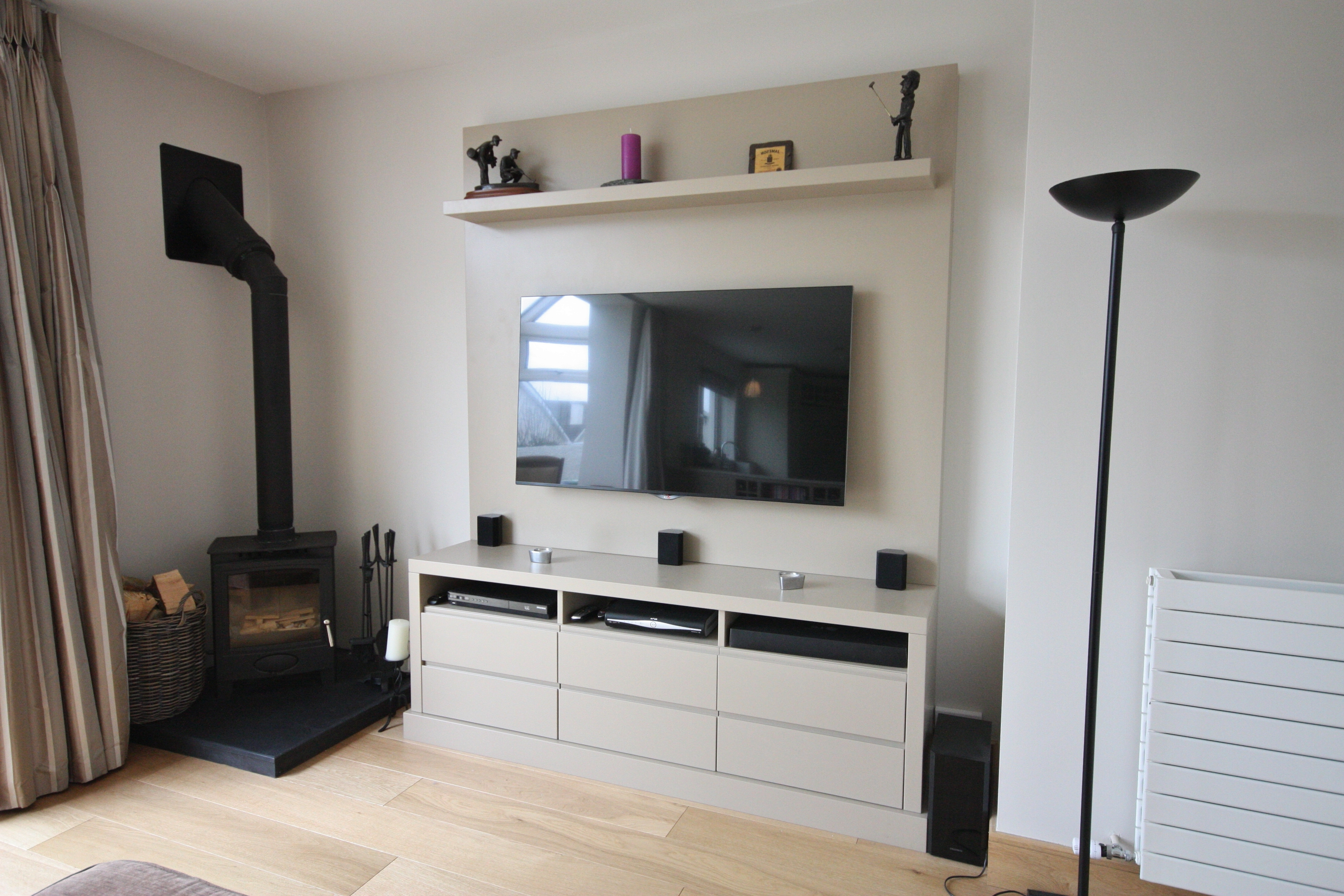 Bespoke Tv Unit With Recent Enigma Design » Tv And Alcove Units (View 5 of 15)