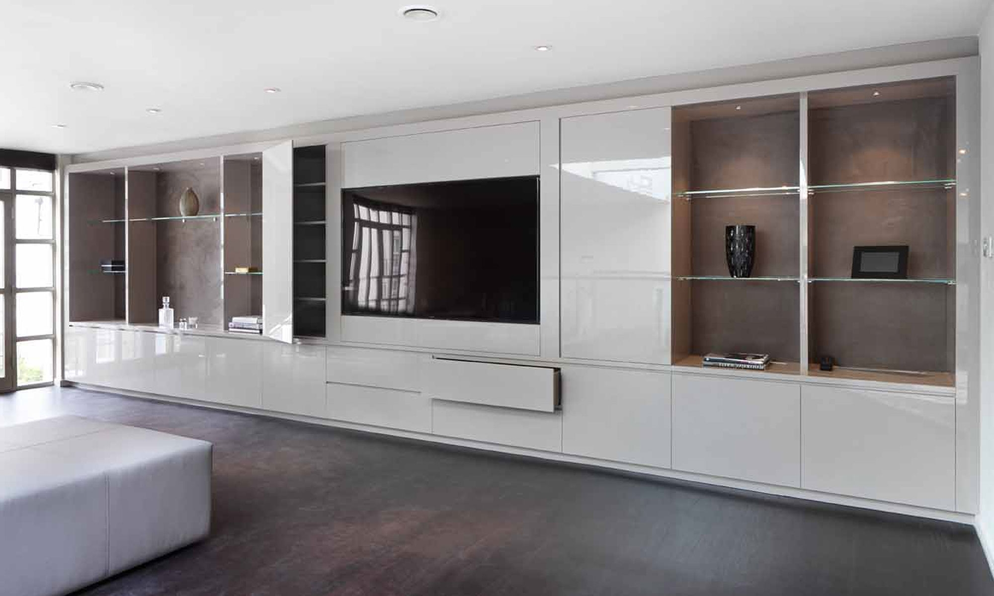 Bespoke Tv Units Inside Current Media Cabinets Londonwyndham Design (View 3 of 15)