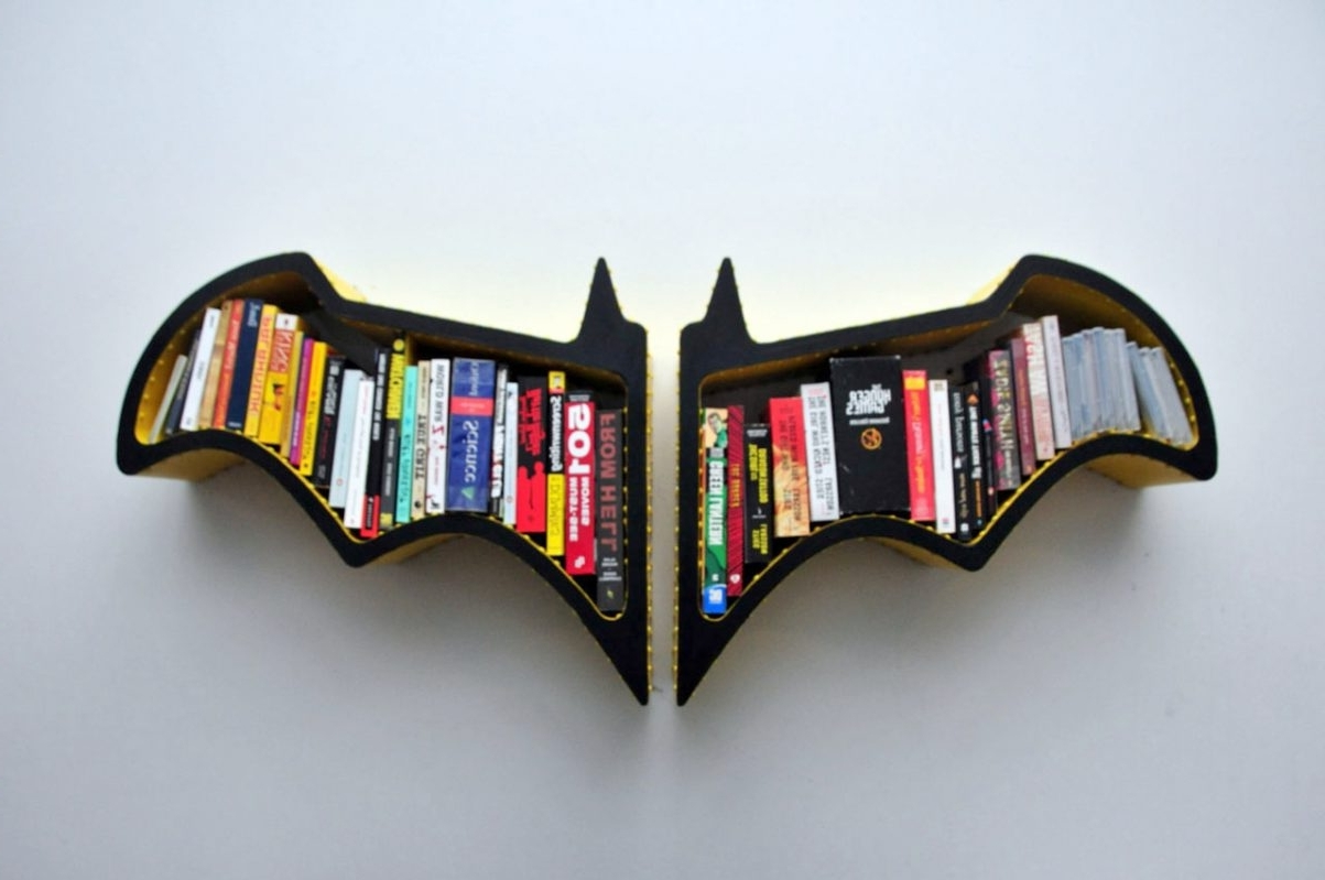 Best And Newest Batman Bookcase (View 9 of 15)
