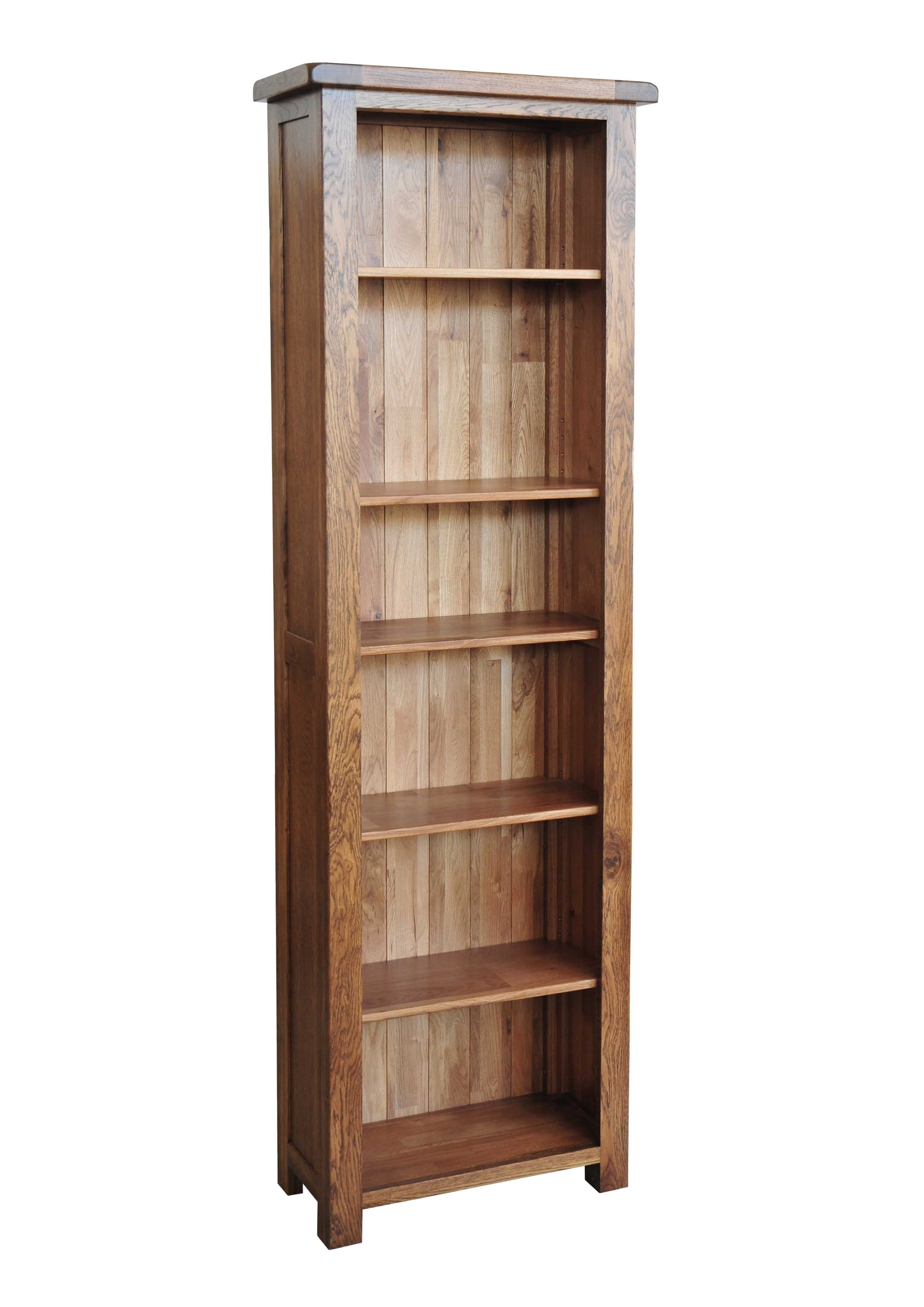 Best And Newest Beautiful Narrow Wood Bookcase Images Design Tall Solid Regarding Thin Bookcases (Gallery 5 of 15)