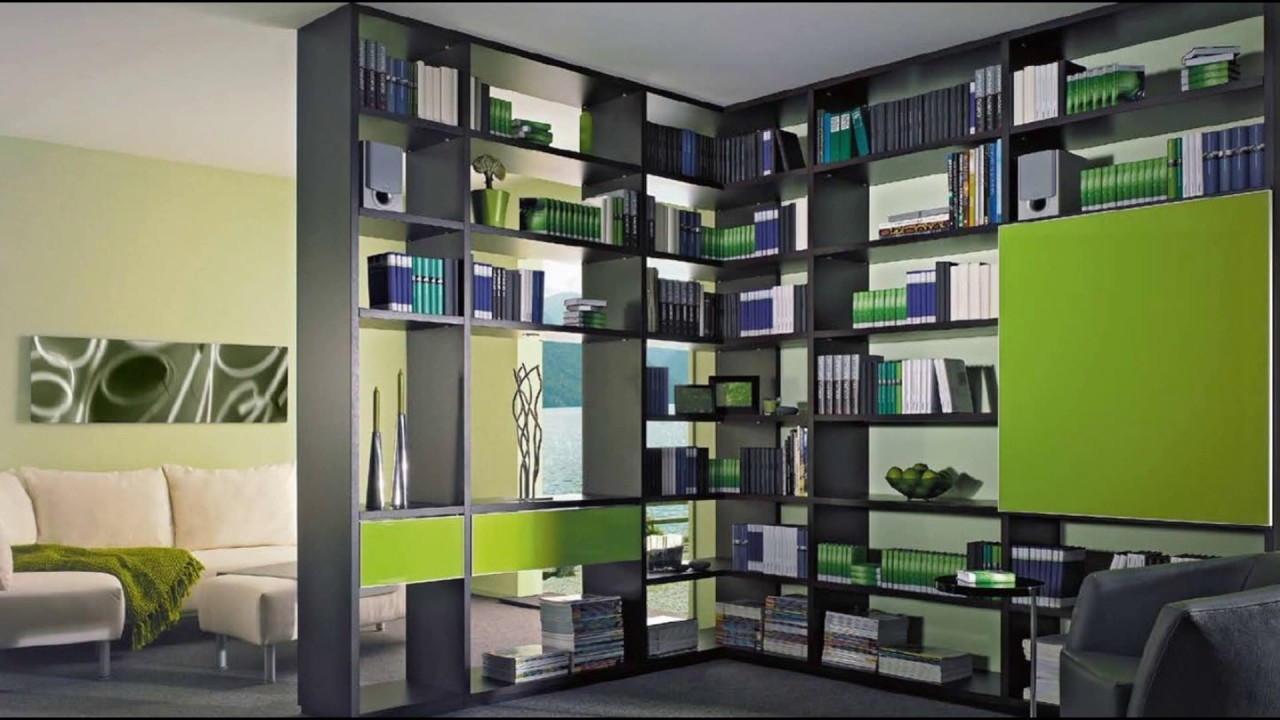 Best And Newest Bookcase Room Dividers – Youtube For Bookcases Room Divider (View 3 of 15)