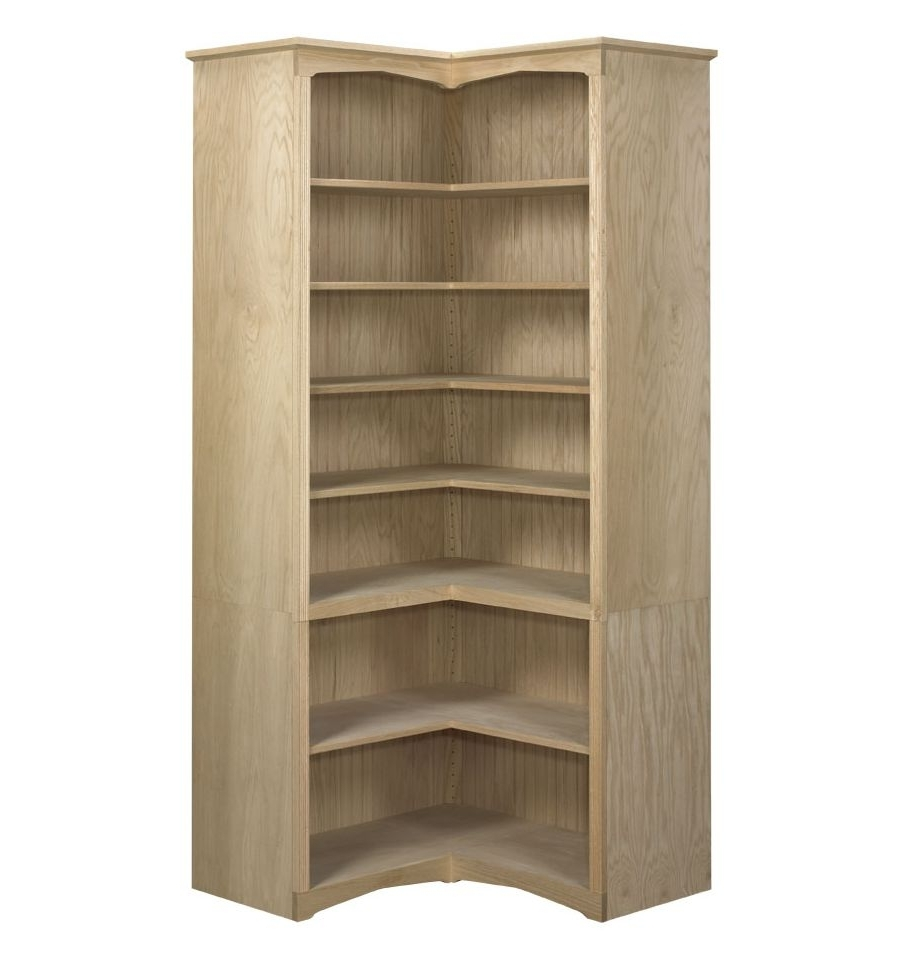 Best And Newest Face Frame Corner Bookcases: Open (View 15 of 15)