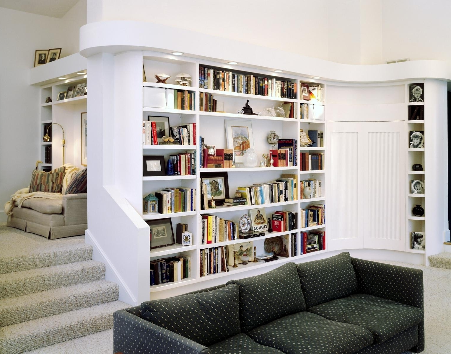 Best And Newest Interior Design : Amazing Corner Bookcase For Beautiful Concept Inside Bookshelves Designs For Home (View 12 of 15)