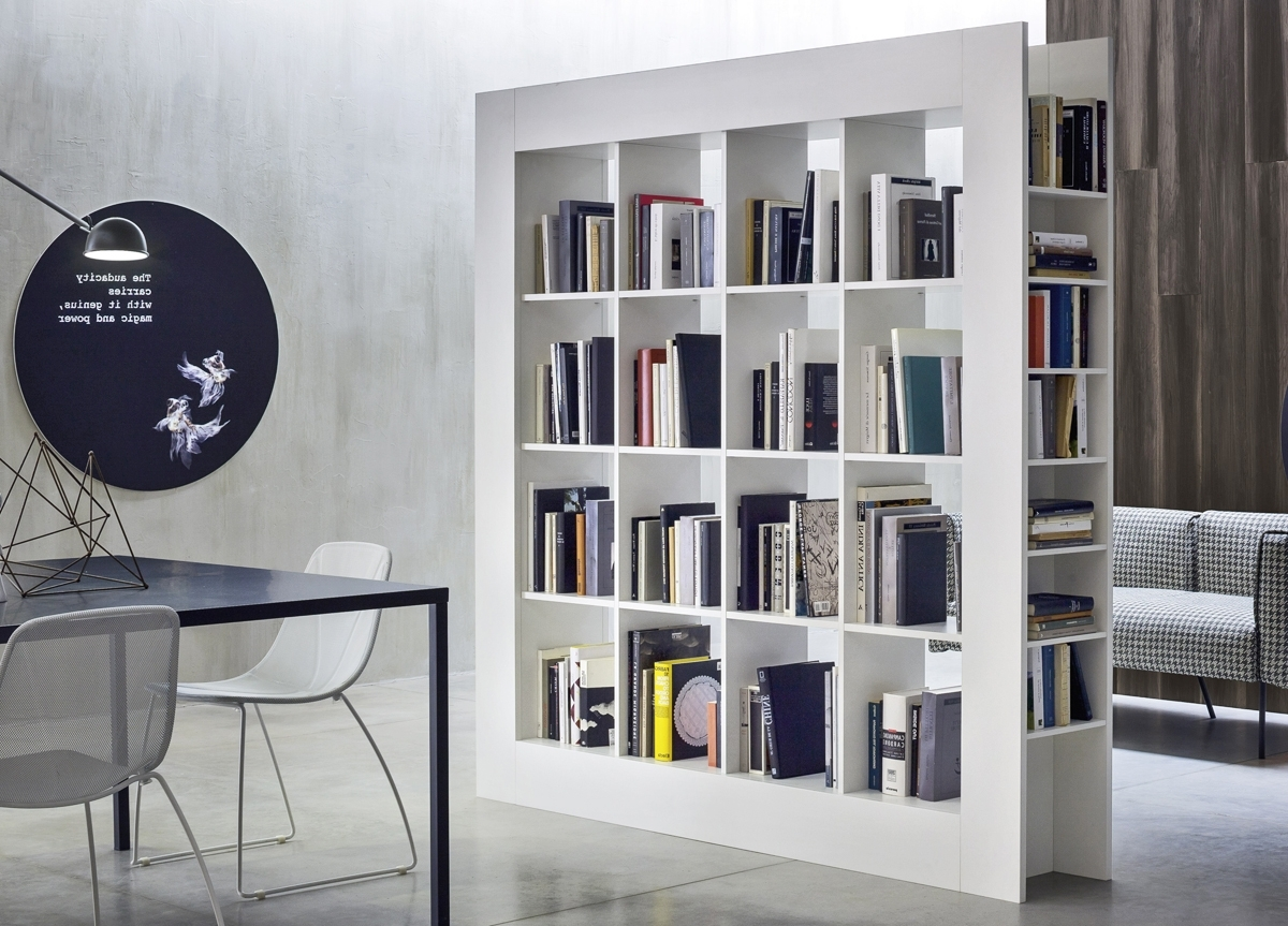 Best And Newest Large Bookcases With Novamobili Frame Large Bookcase (View 10 of 15)