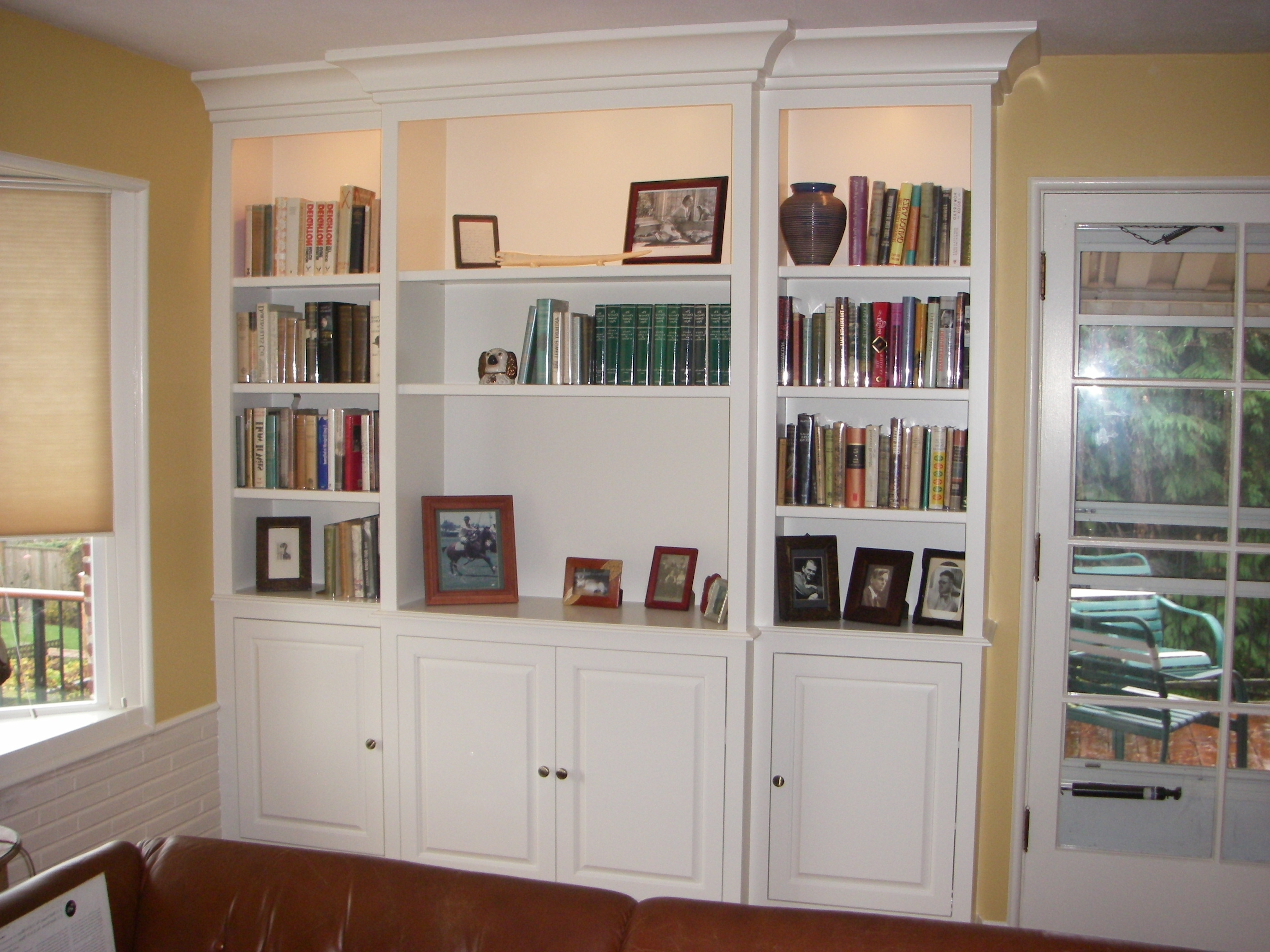 Best And Newest Library Bookcases Wall Unit Intended For Wall Unit Bookshelves Home Library Wall Units Hd Wallpaper Images (View 13 of 15)