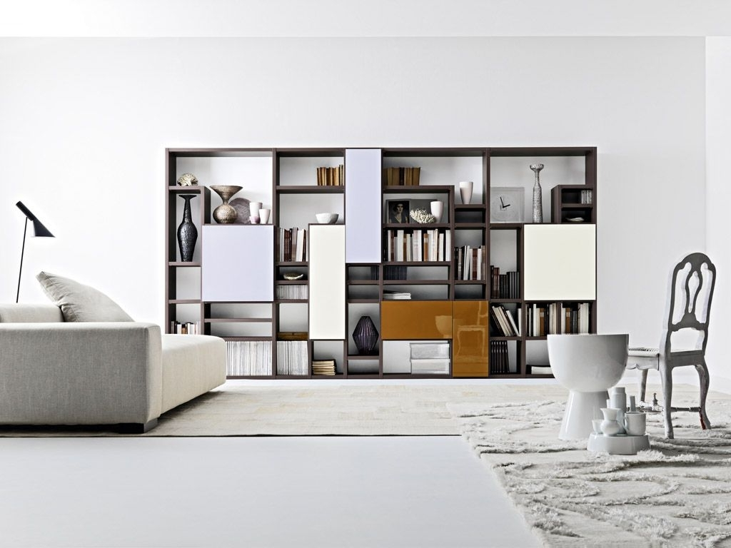 Best And Newest Modern Contemporary Bookshelves Furniture (View 1 of 15)