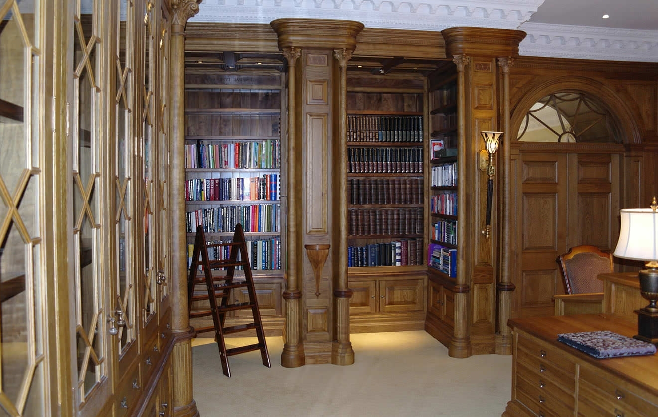 Best And Newest Traditional Bookcase / Wooden – The Whole House – Smallbone & Co Inside Traditional Bookcases (View 7 of 15)