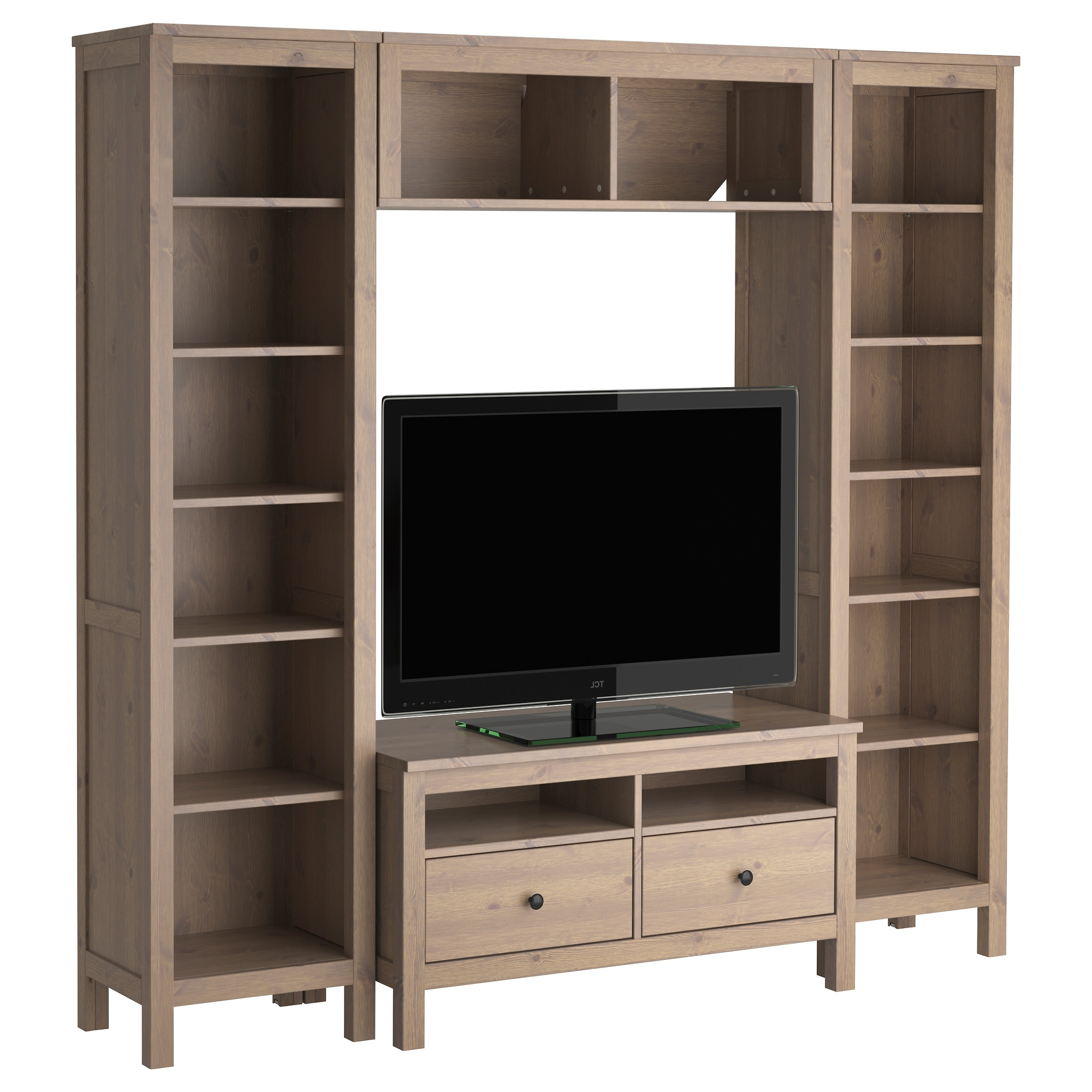 gallery of tv bookcases combination view 10 of 15 photos. Black Bedroom Furniture Sets. Home Design Ideas