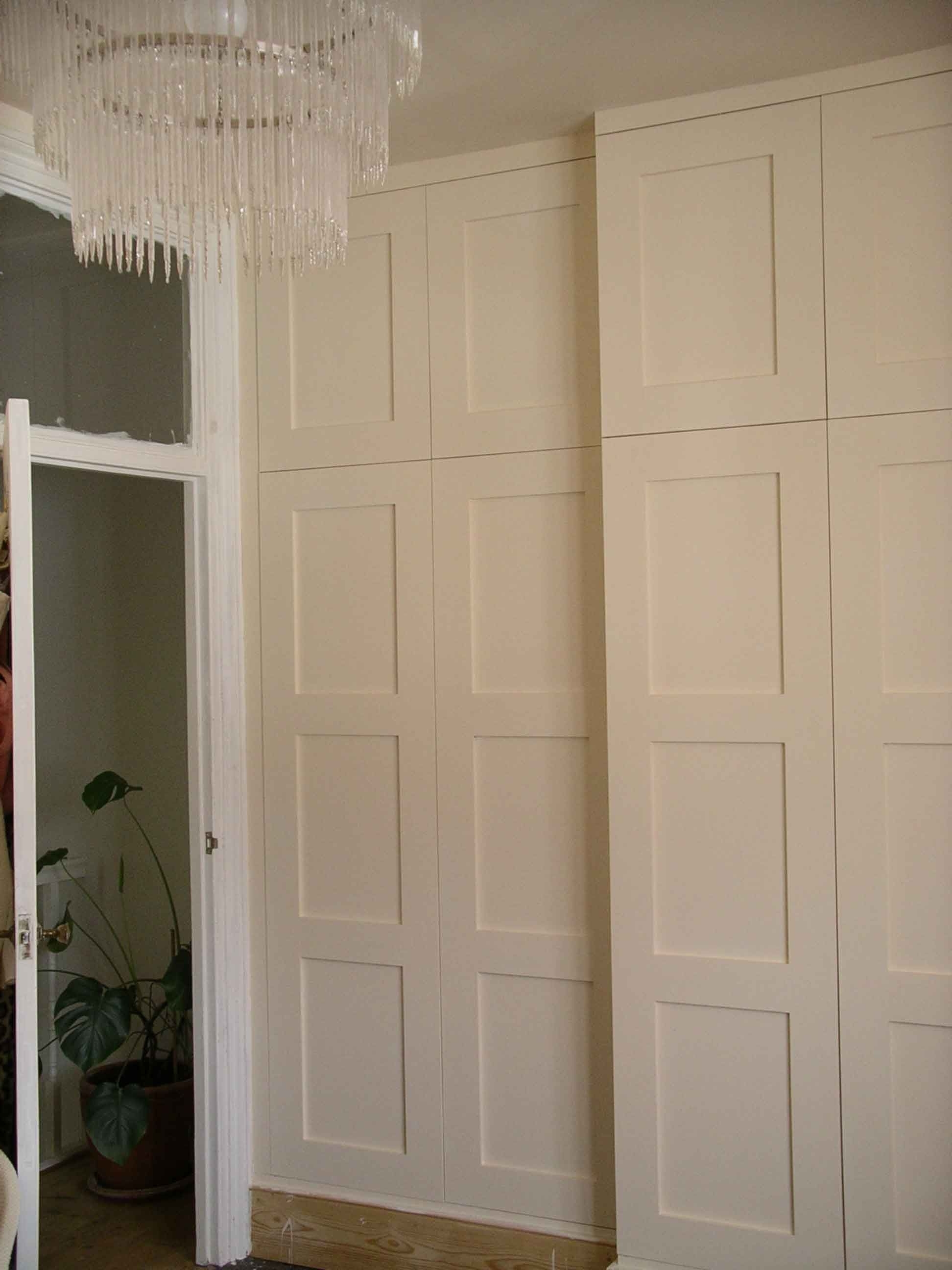 Best And Newest Wall Wardrobes Regarding Full Wall Shaker Style Panels – Google Search (View 9 of 15)
