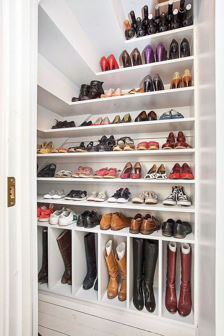 Best And Newest Wardrobes Shoe Storages Throughout Closet Storage : Shoe Cabinet Target Small Closet Organizers Do It (View 14 of 15)