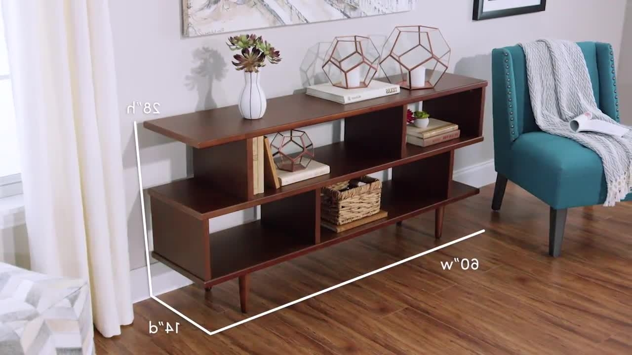 Best And Newest World Market Bookcases For Walnut Brown Wood Ashlyn Bookshelf (View 10 of 15)