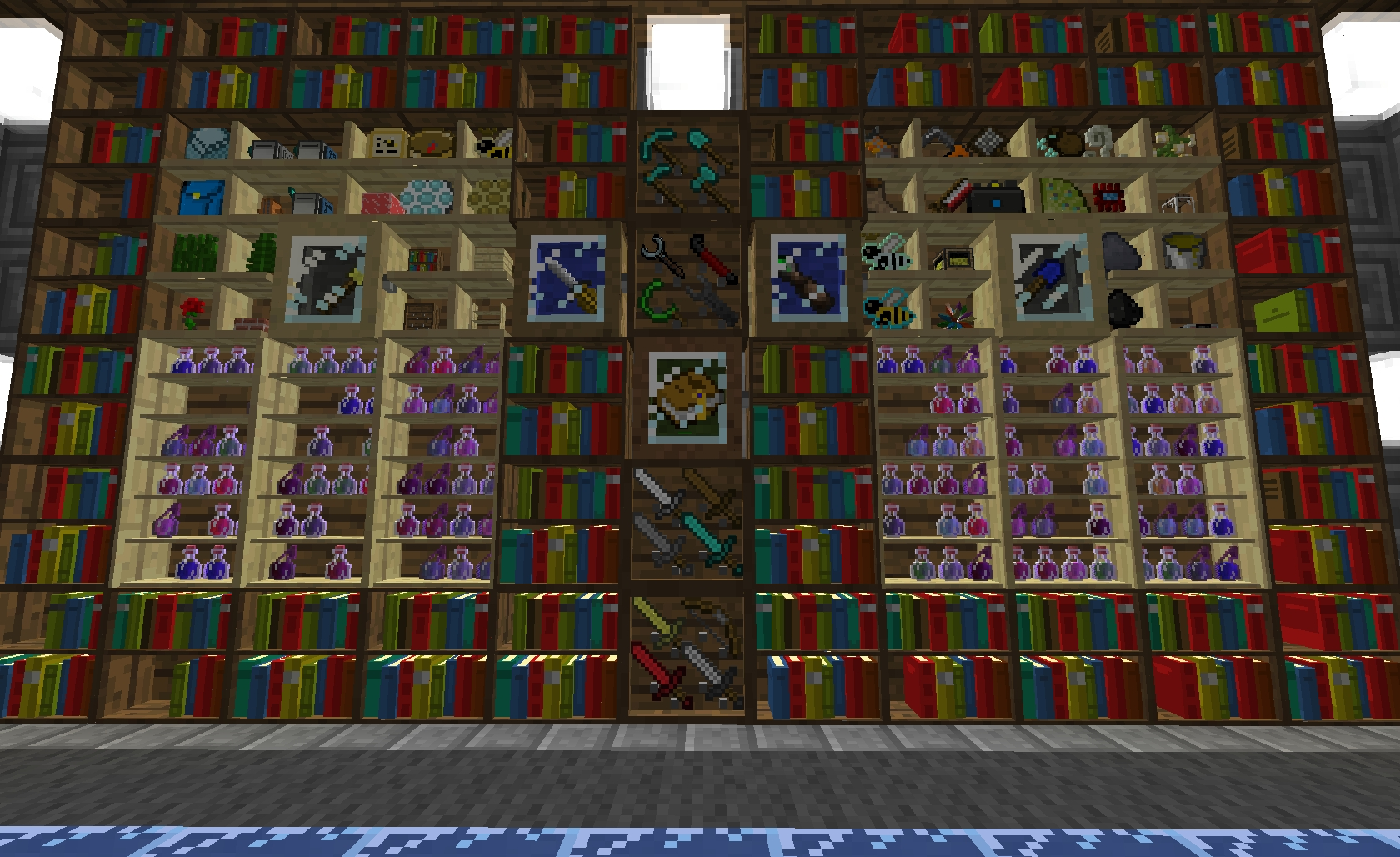 [%bibliocraft [v2.4.3] Bookcases, Armor Stands, Shelves, Printing Within Most Current Minecraft Bookcases|minecraft Bookcases Throughout Current Bibliocraft [v2.4.3] Bookcases, Armor Stands, Shelves, Printing|recent Minecraft Bookcases Inside Bibliocraft [v2.4.3] Bookcases, Armor Stands, Shelves, Printing|favorite Bibliocraft [v2. (View 10 of 15)