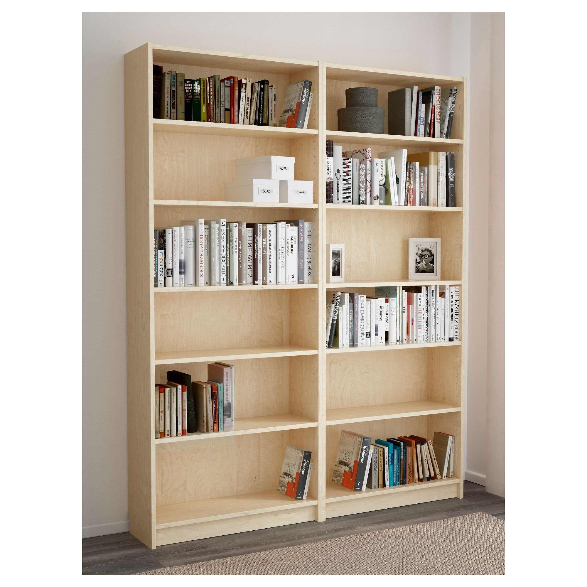 Billy Bookcase – Birch Veneer – Ikea With Current Billy Bookcases (View 15 of 15)