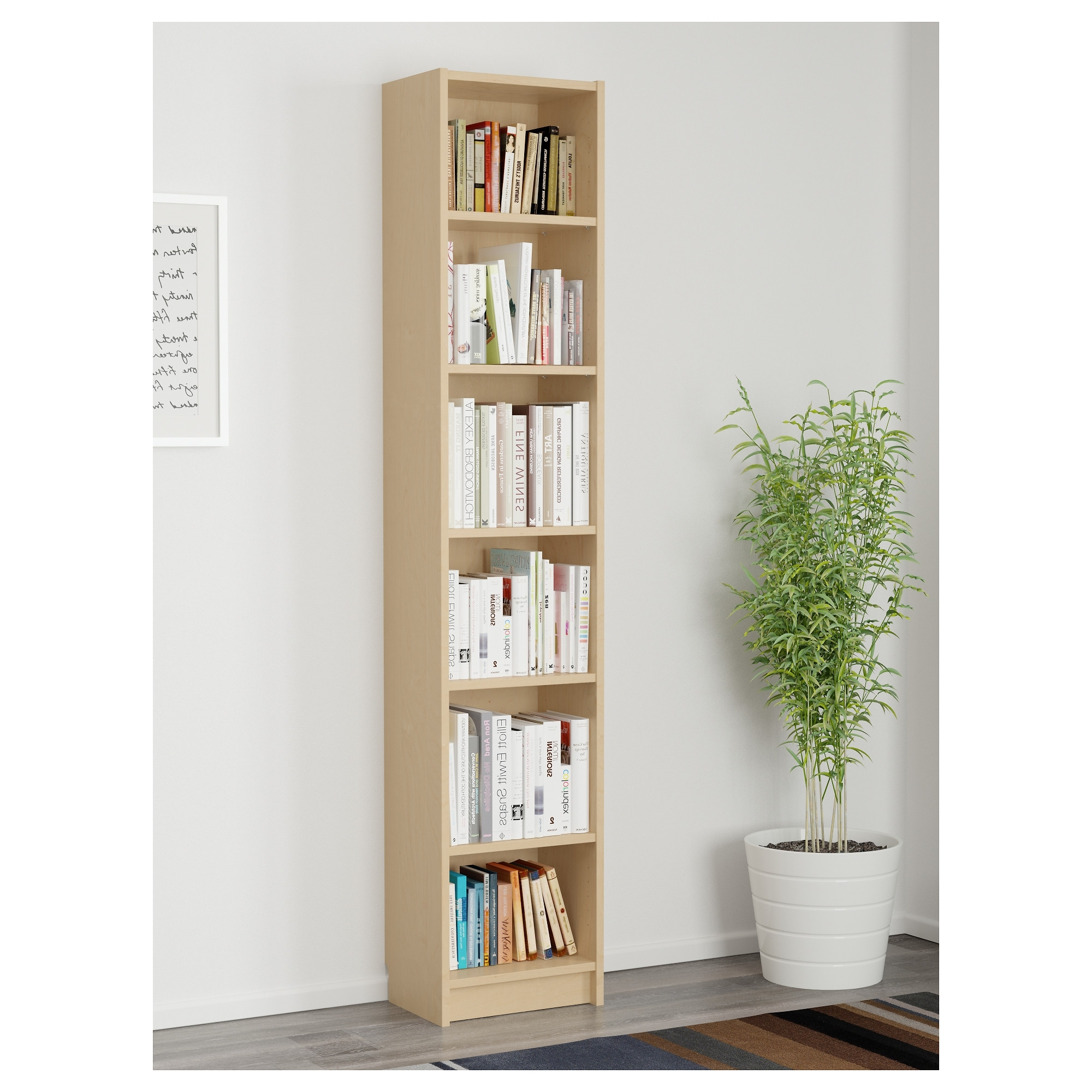 Billy Bookcase – Birch Veneer – Ikea With Regard To Most Current 84 Inch Tall Bookcases (View 10 of 15)