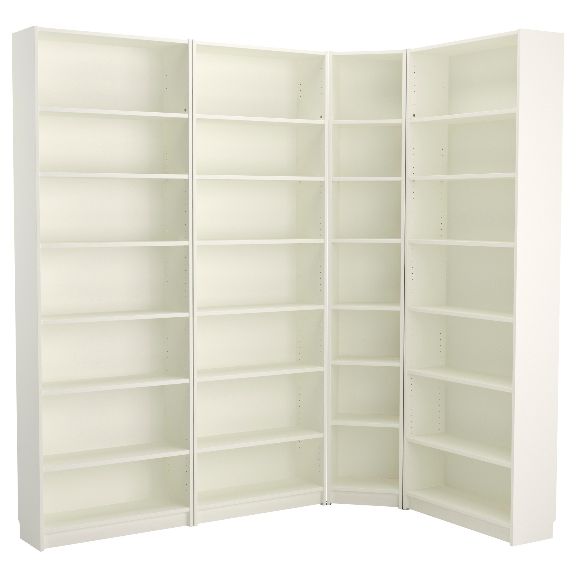 Billy Bookcase – White – Ikea With 2018 Ikea Corner Bookcases (View 1 of 15)