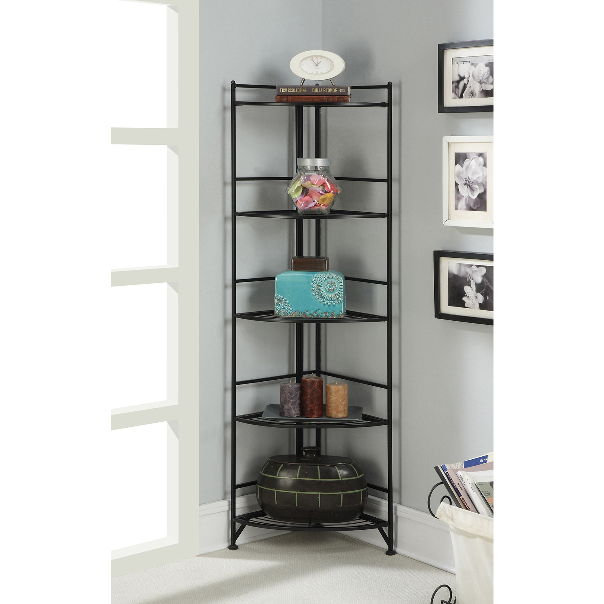 Black Corner Bookcases With Current Bookcases – Walmart (View 12 of 15)