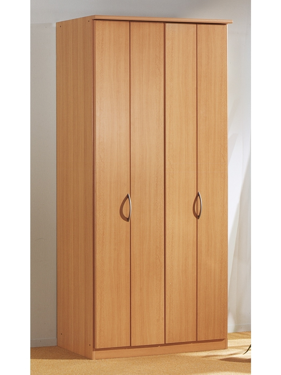 Blitz 2 Door Bi Folding Door Wardrobe – Rauch Furniture Pertaining To Well Known Folding Door Wardrobes (View 3 of 15)