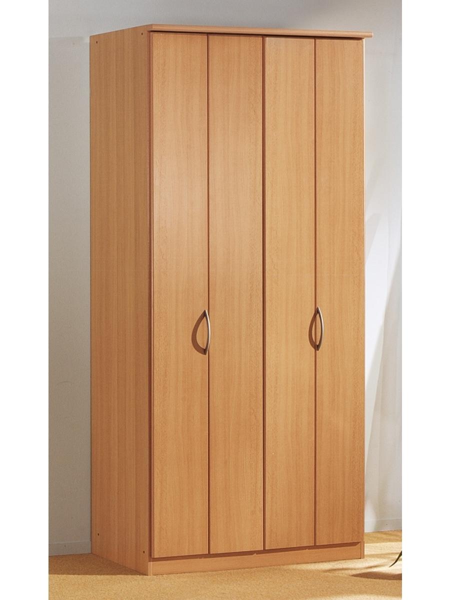 Blitz 2 Door Bi Folding Door Wardrobe – Rauch Furniture Pertaining To Well Known Folding Door Wardrobes (View 5 of 15)