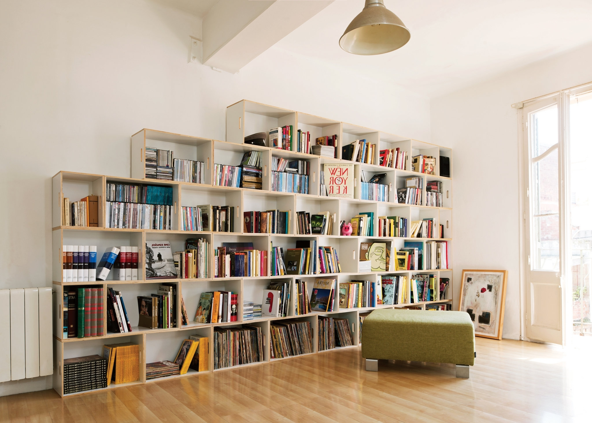 Book Shelving Systems Throughout Current Furniture,awesome Modular Shelving Units Design Ideas With White (View 4 of 15)