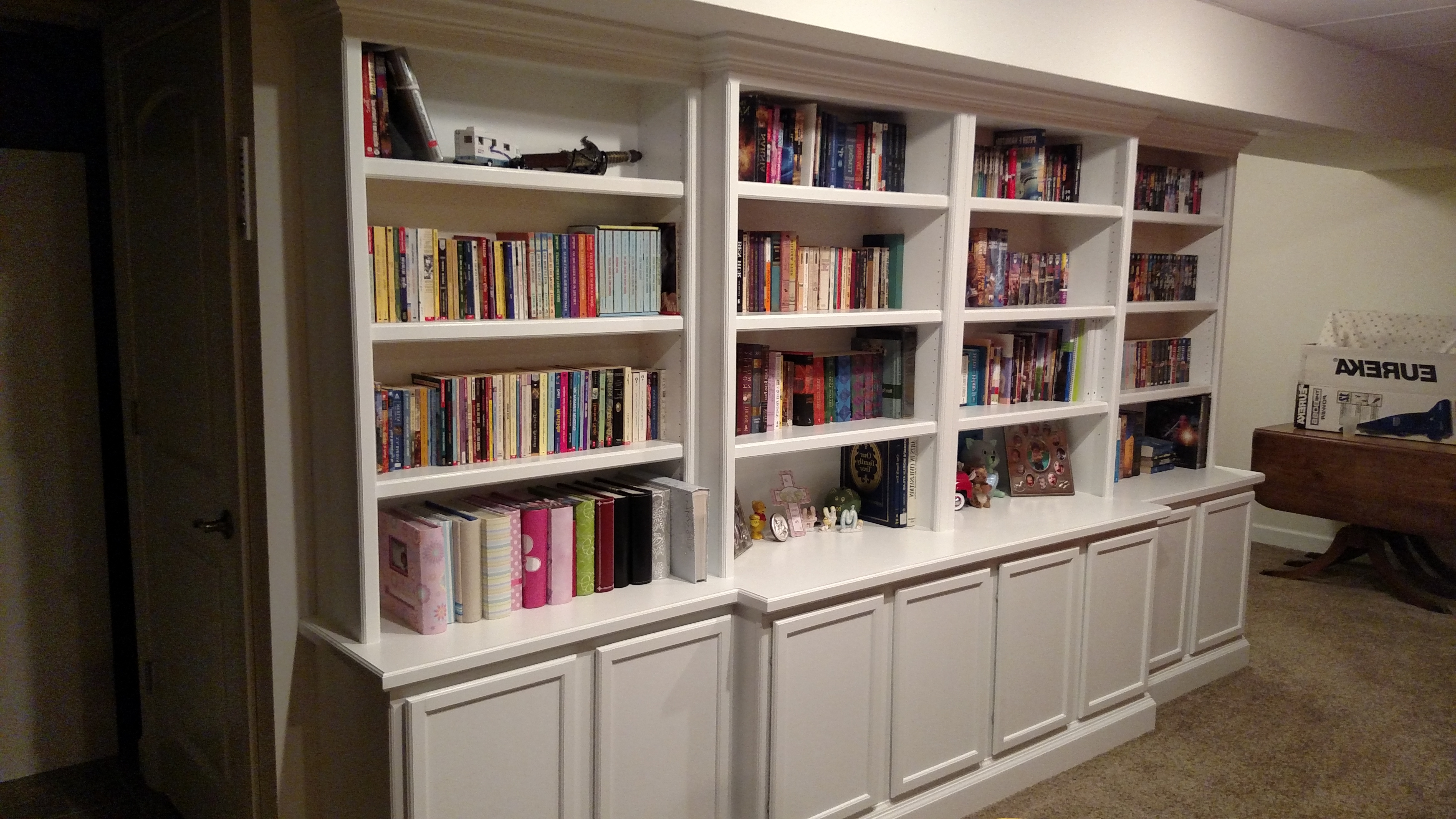 Bookcase Carpentry Cabinet Contractor (View 3 of 15)
