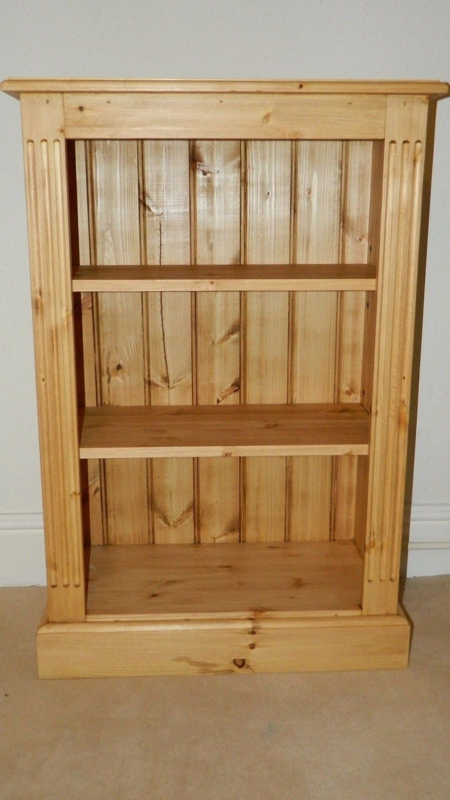 Bookcase Corona Panama Book Dvd Shelf Drawer Display Solid Waxed In Trendy Pine Bookcases (View 1 of 15)